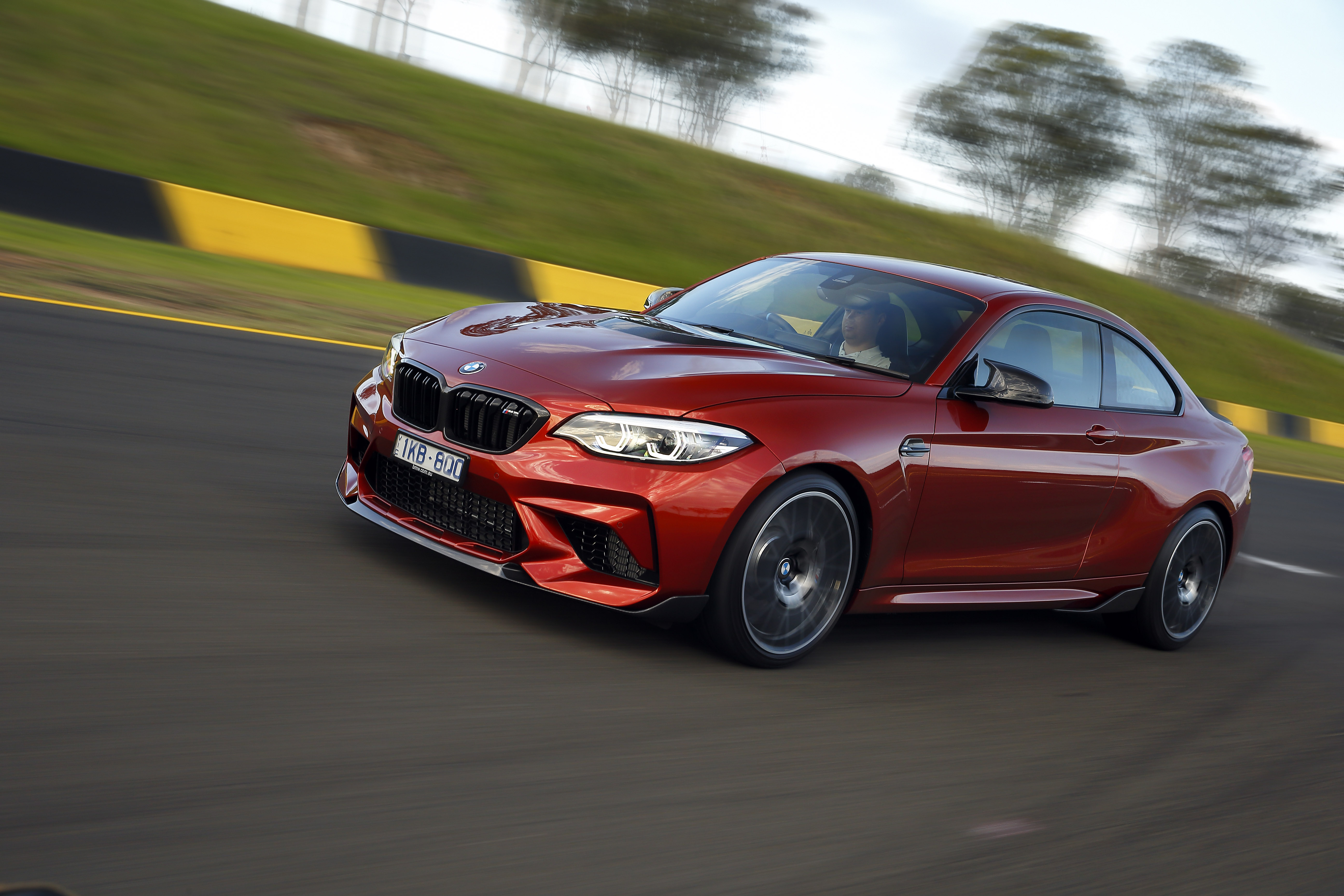 BMW M2 Competition for road test rivals