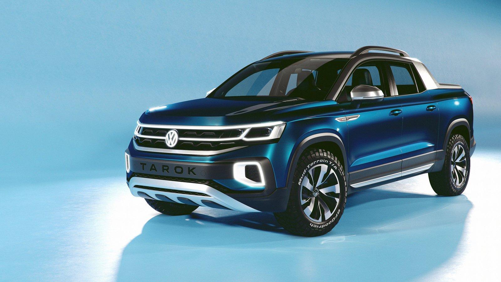 VW unveils Tarok lifestyle ute