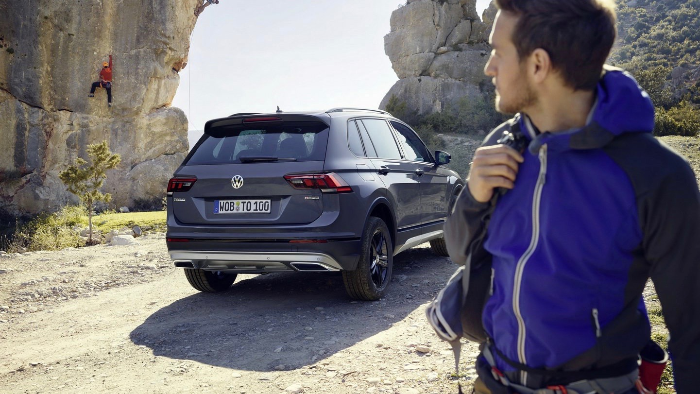 Tiguan Offroad revealed