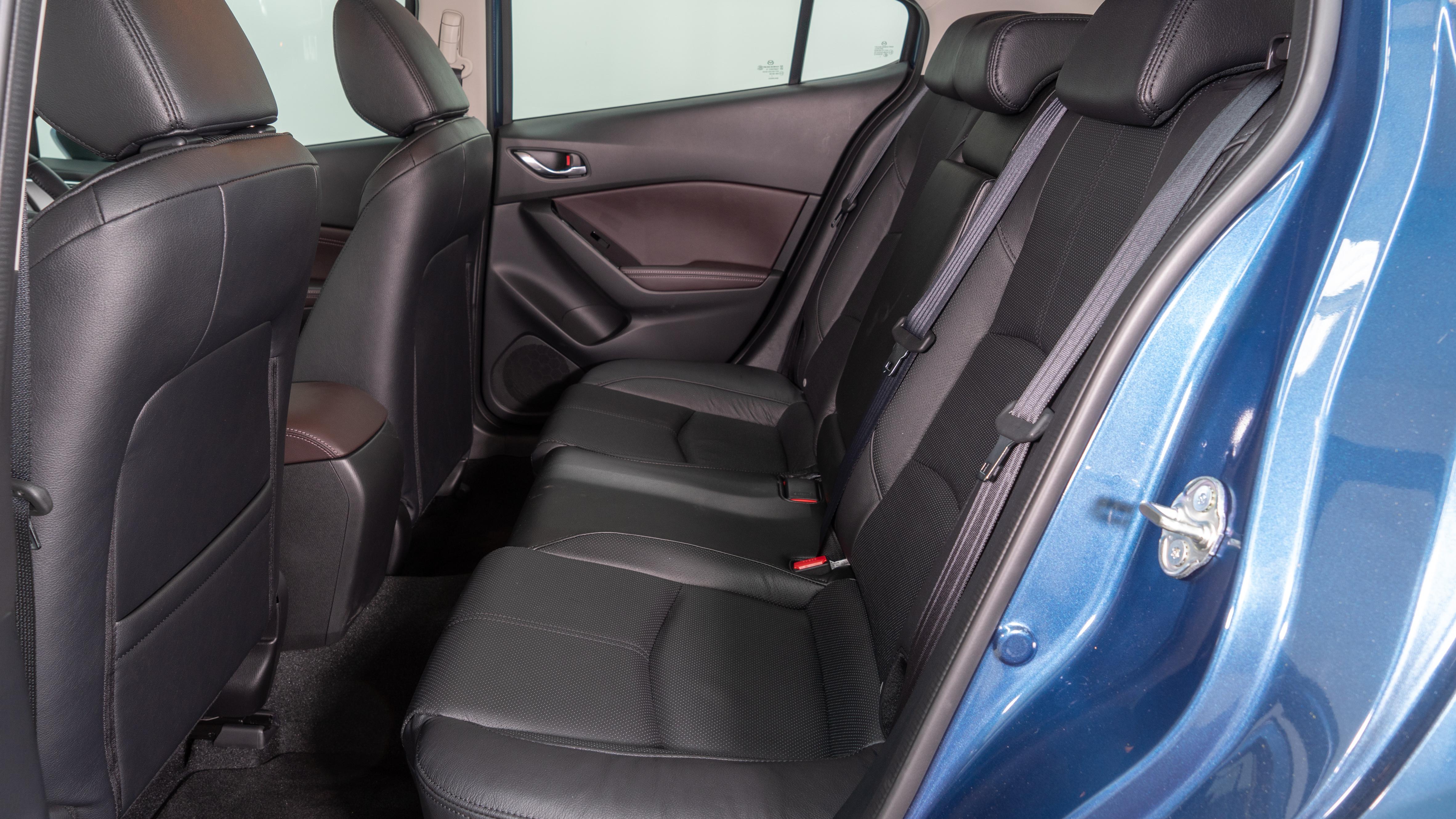 Mazda3 back seat