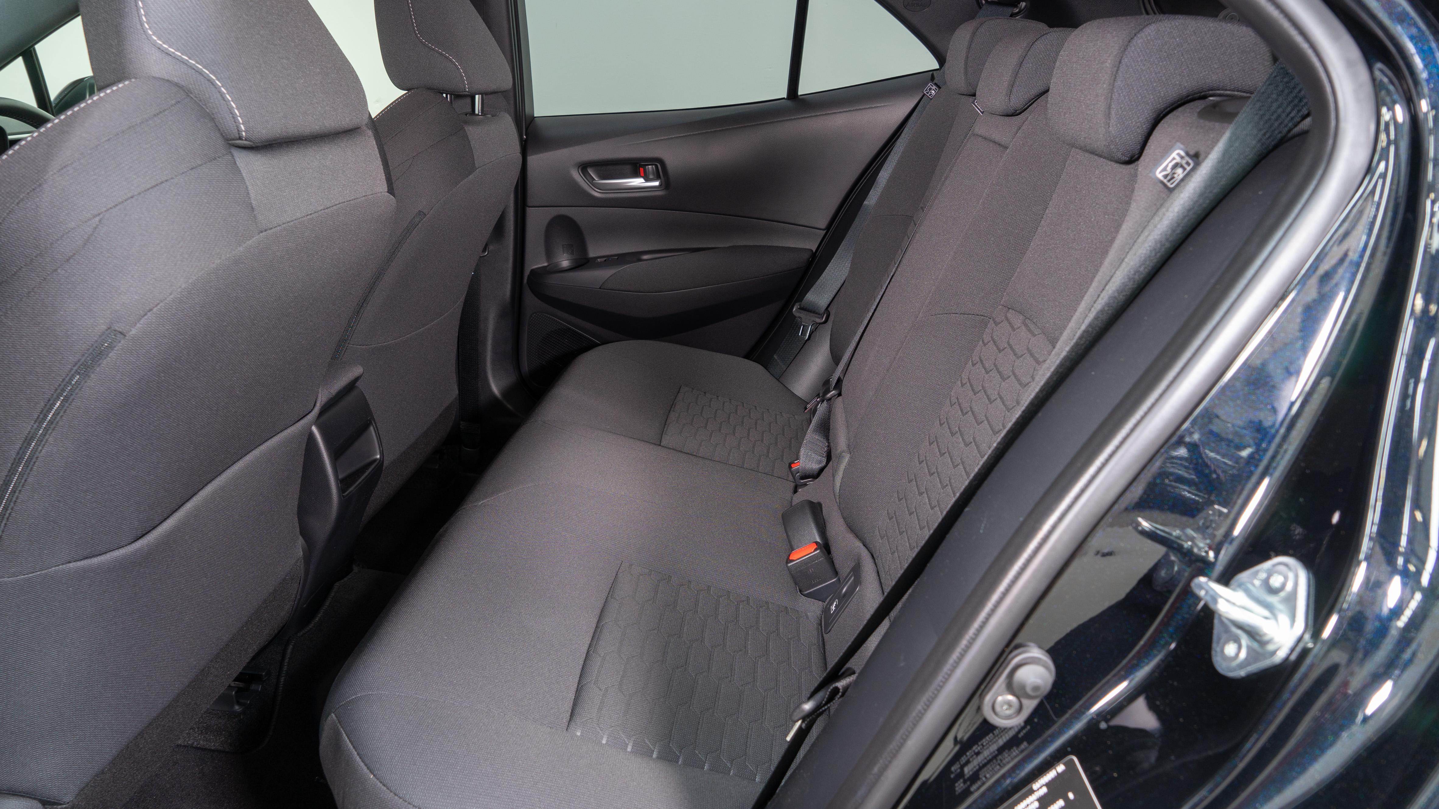 Corolla back seat