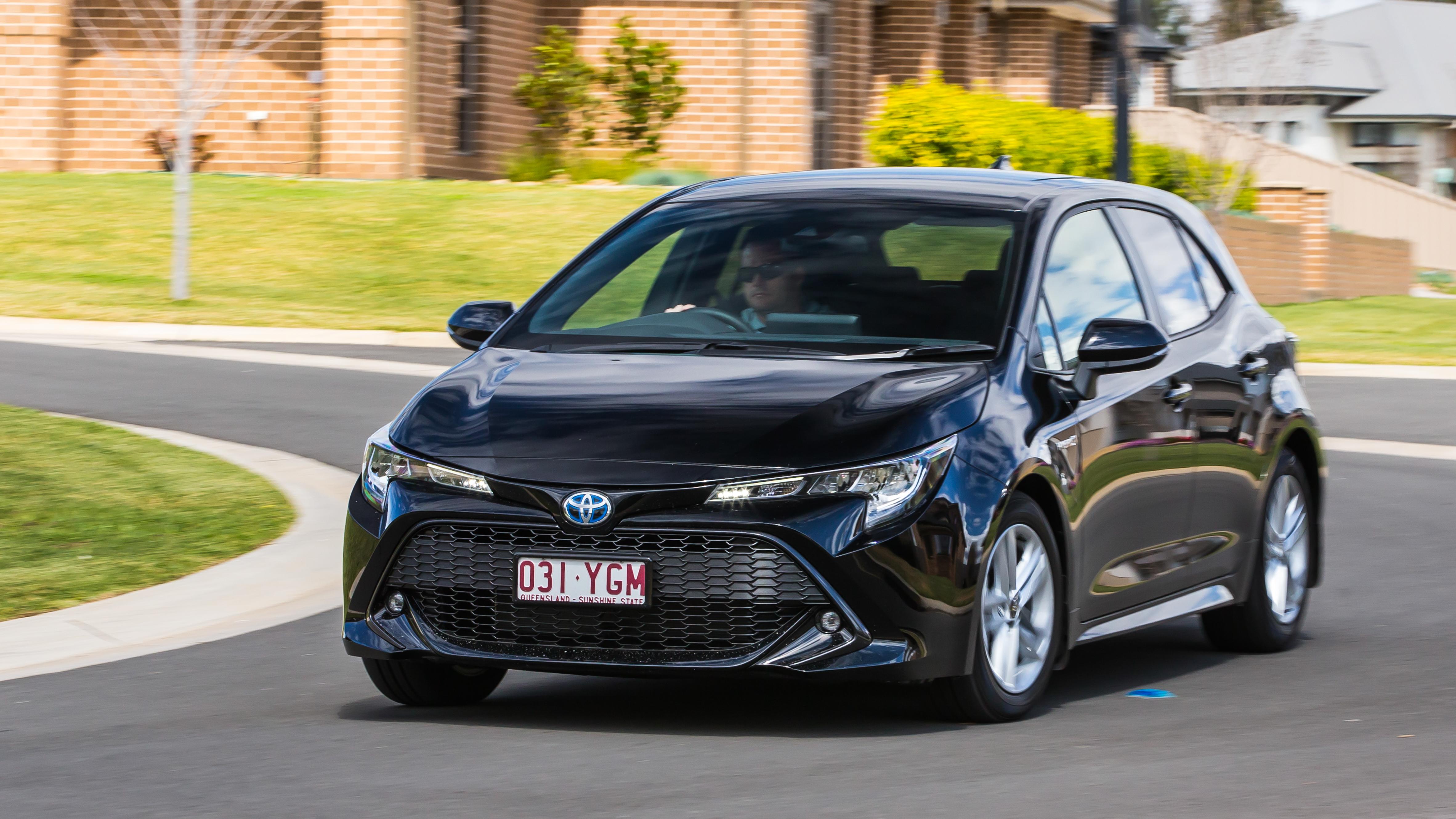 Toyota Corolla cornering