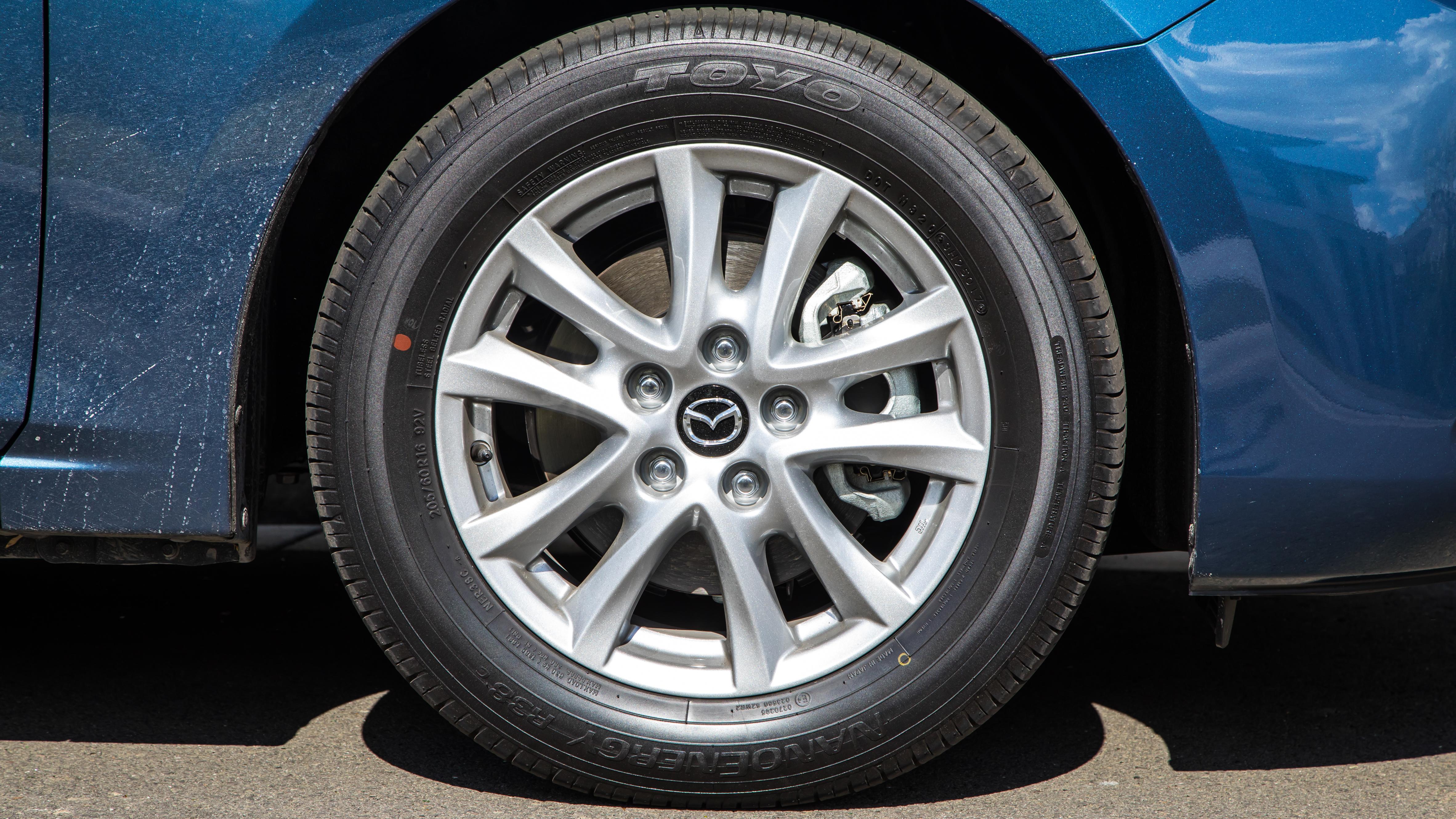 Mazda3 wheel