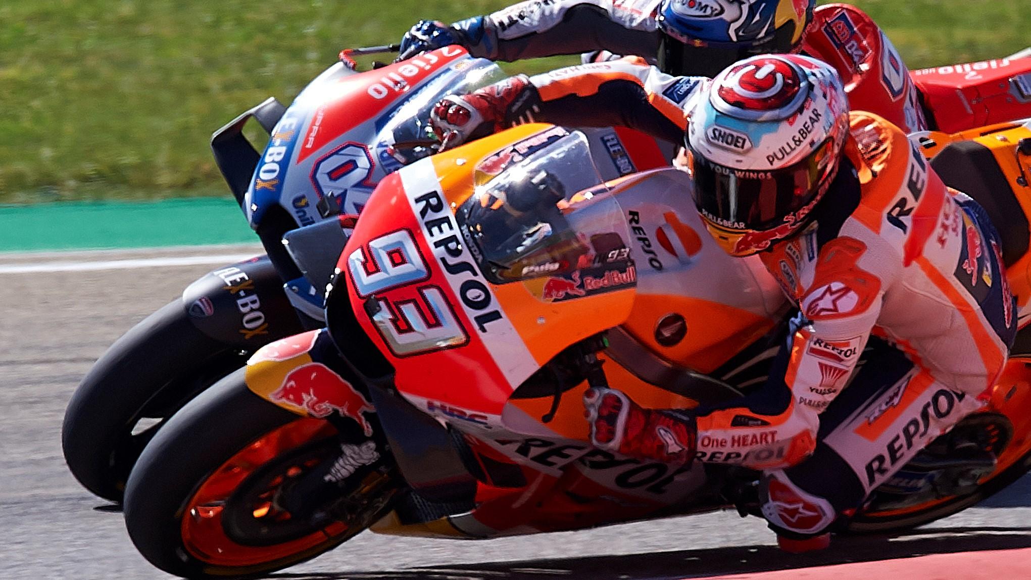 MotoGP: Marc Marquez.