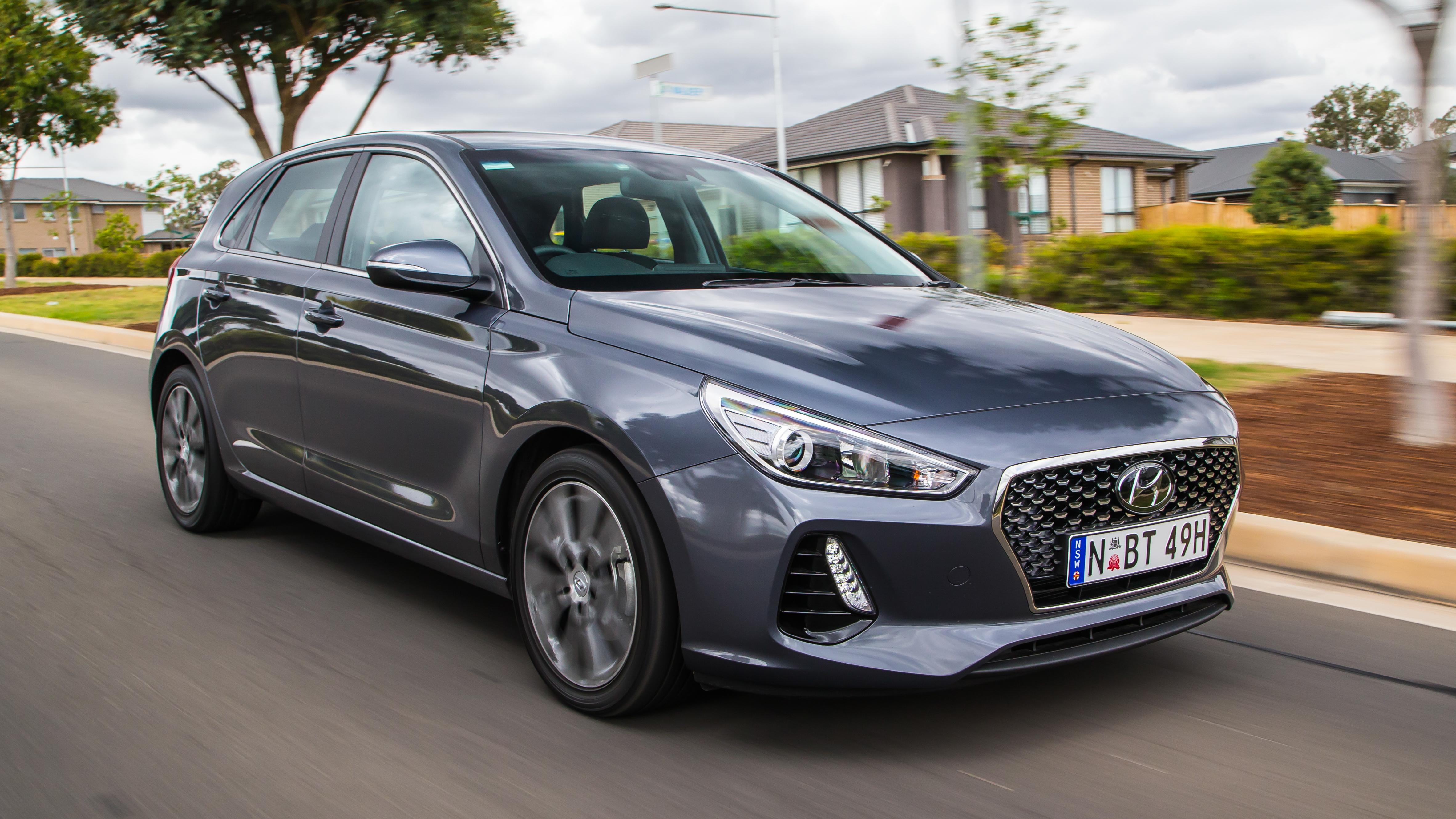 Hyundai i30 tracking
