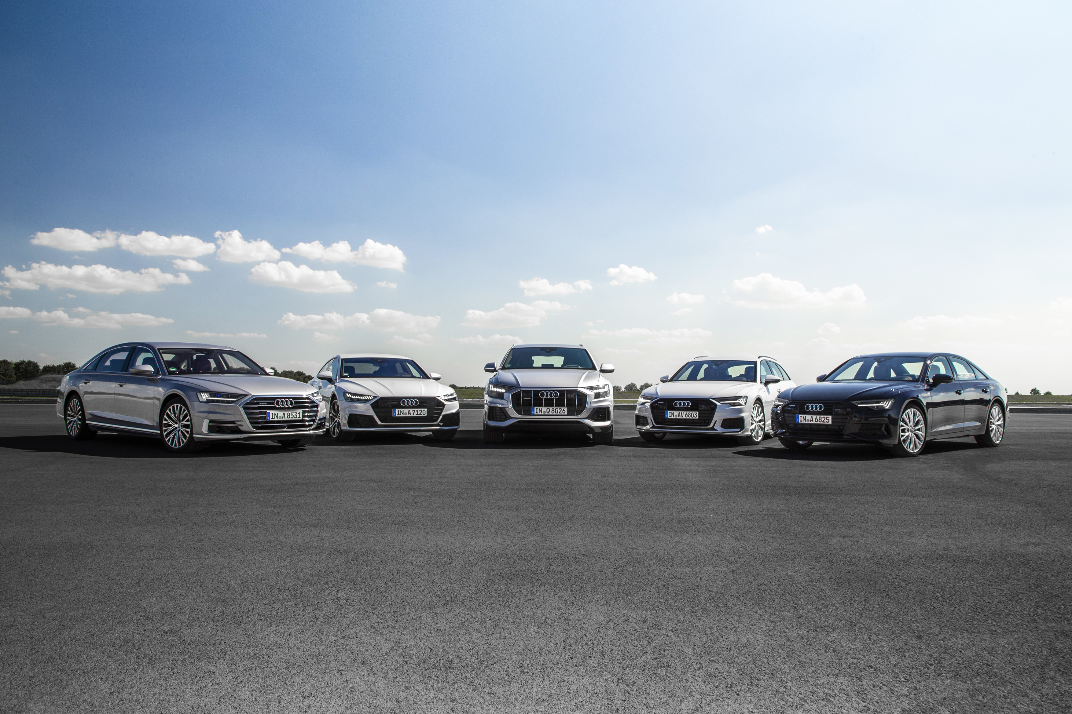 Audi's massive model onslaught
