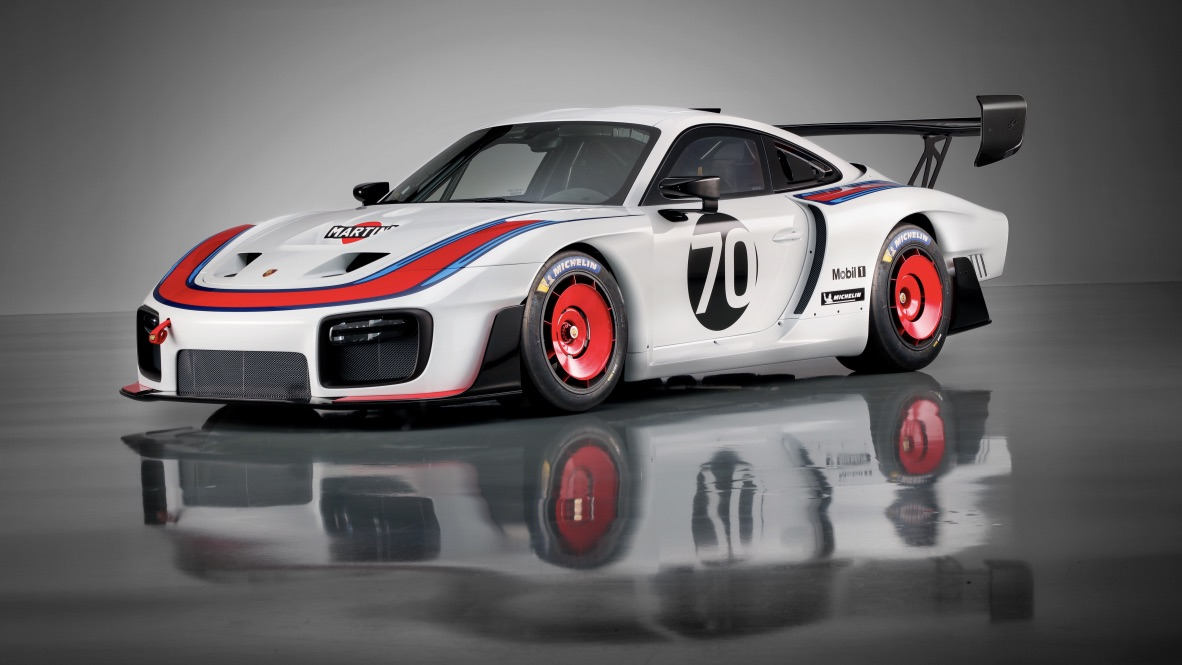 Porsche unveils retro trackday weapon