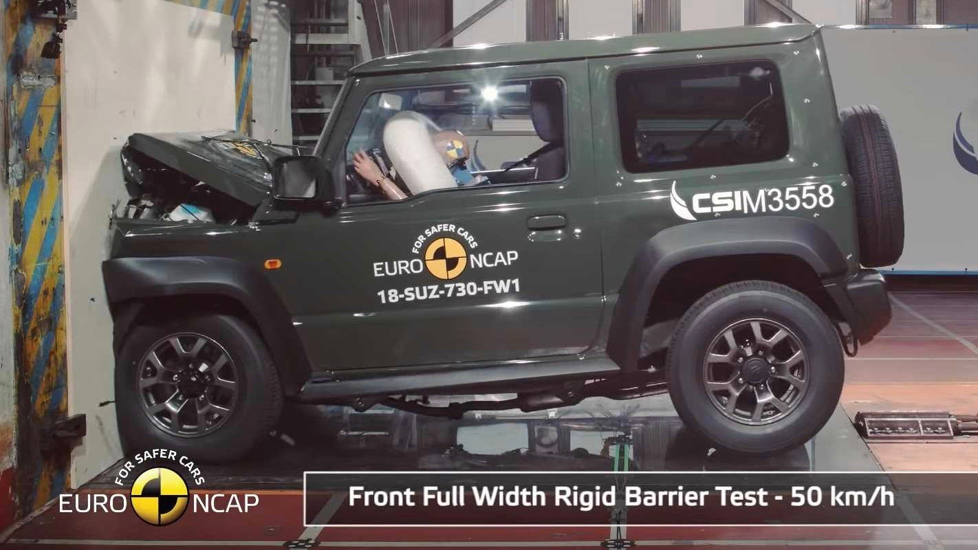 Suzuki Jimny slammed in safety test