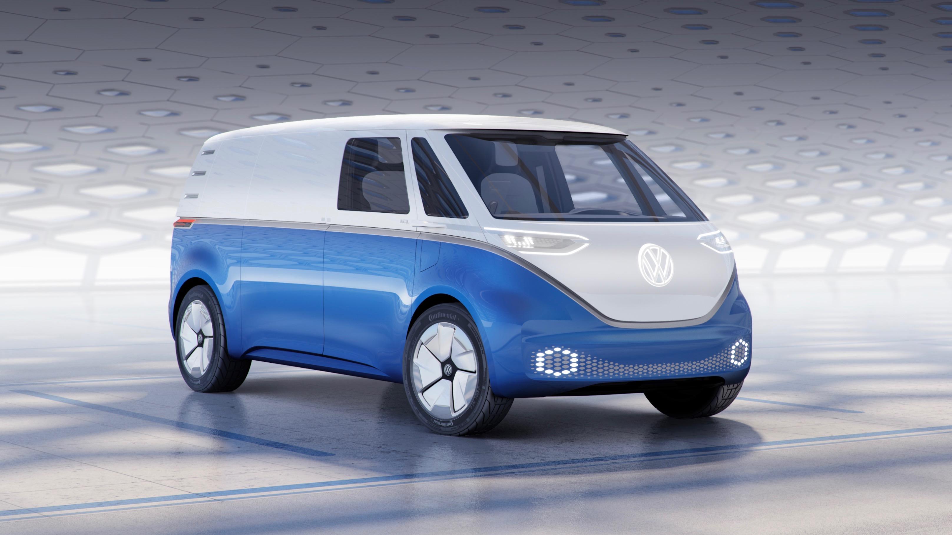 Volkswagen's electric van concept
