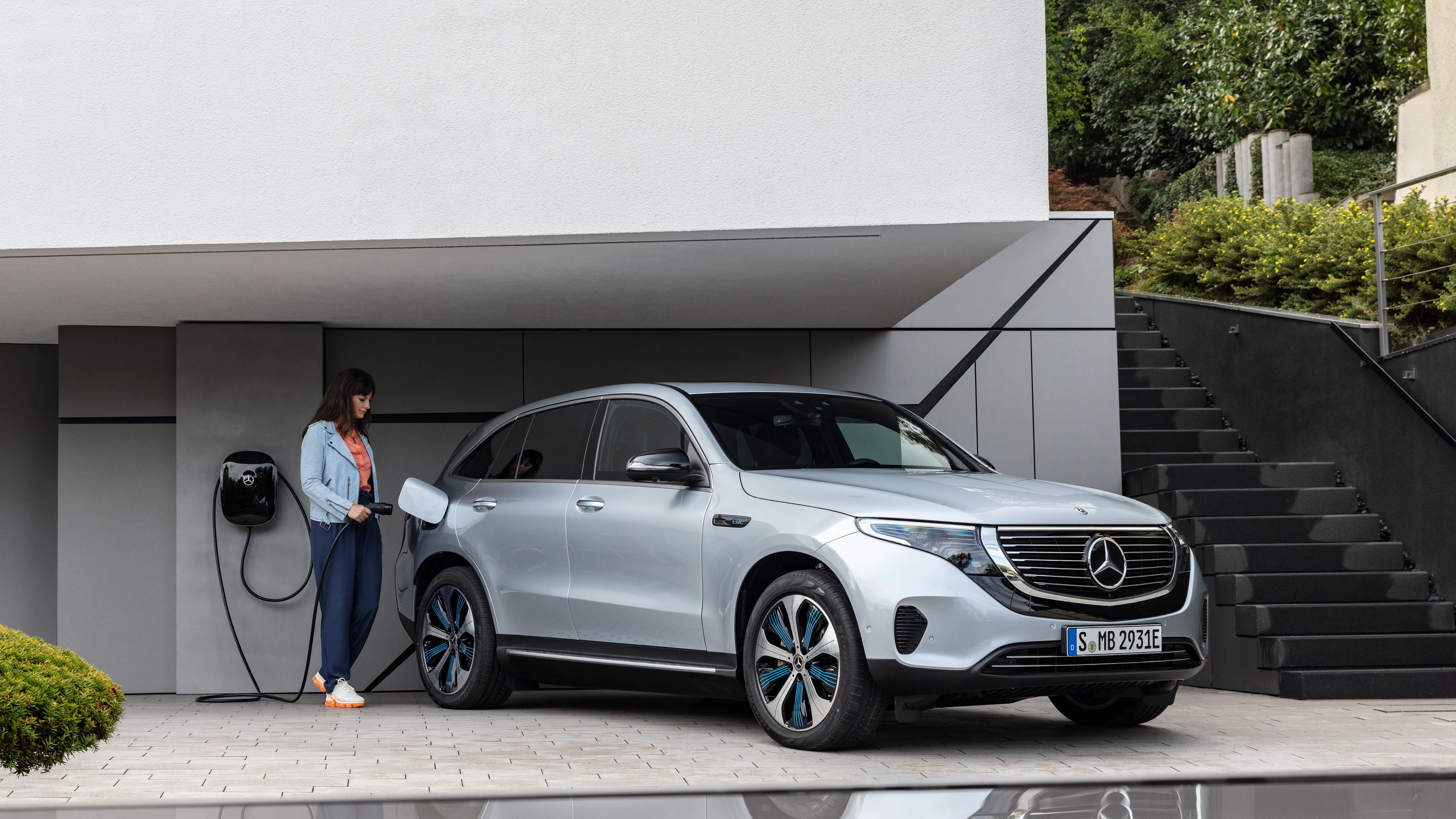 Mercedes-Benz EQC.