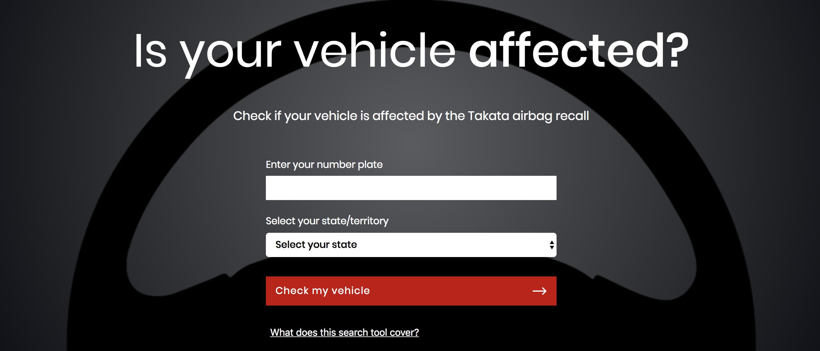 South Australia bans Takata airbags
