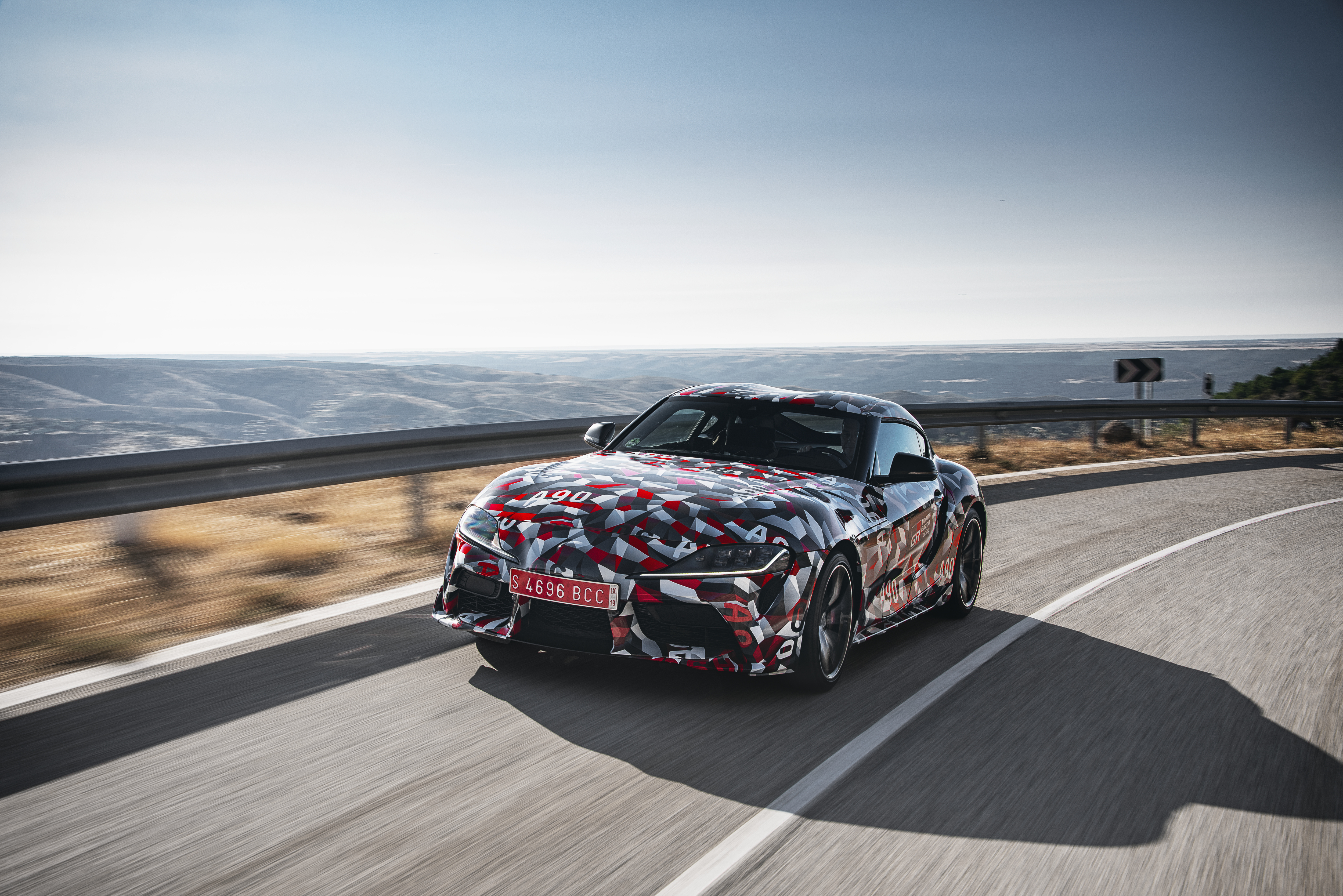 2019 Toyota Supra.