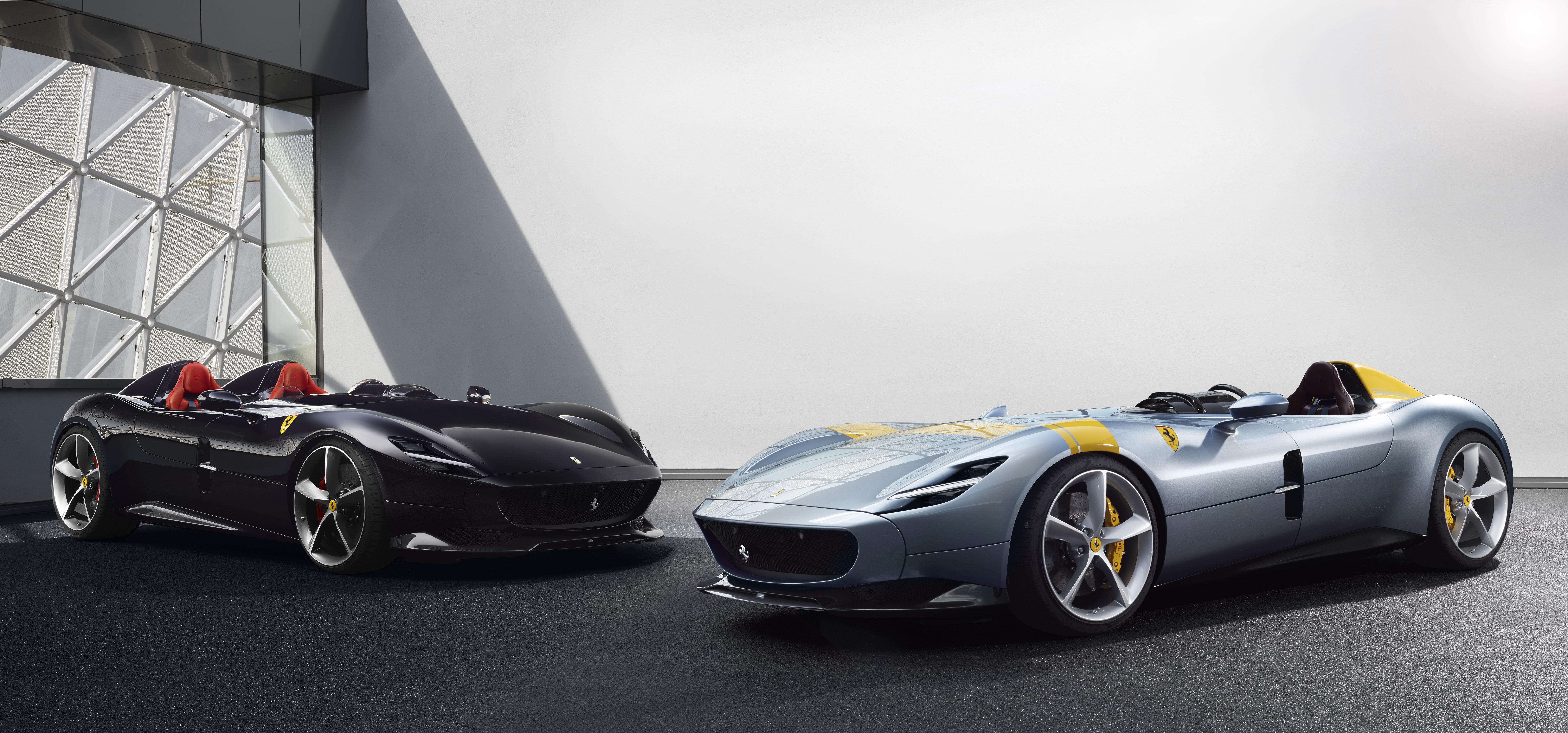 Ferrari Monza SP1 and SP2.