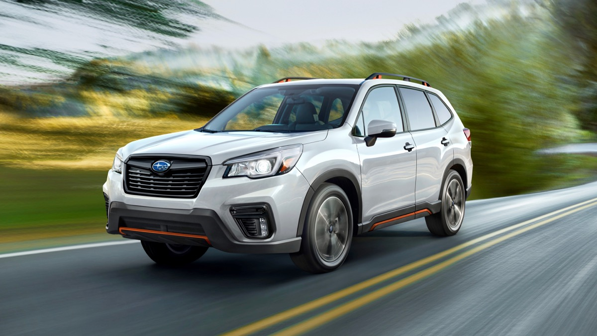 Forester STI ruled out, Sport edition likely