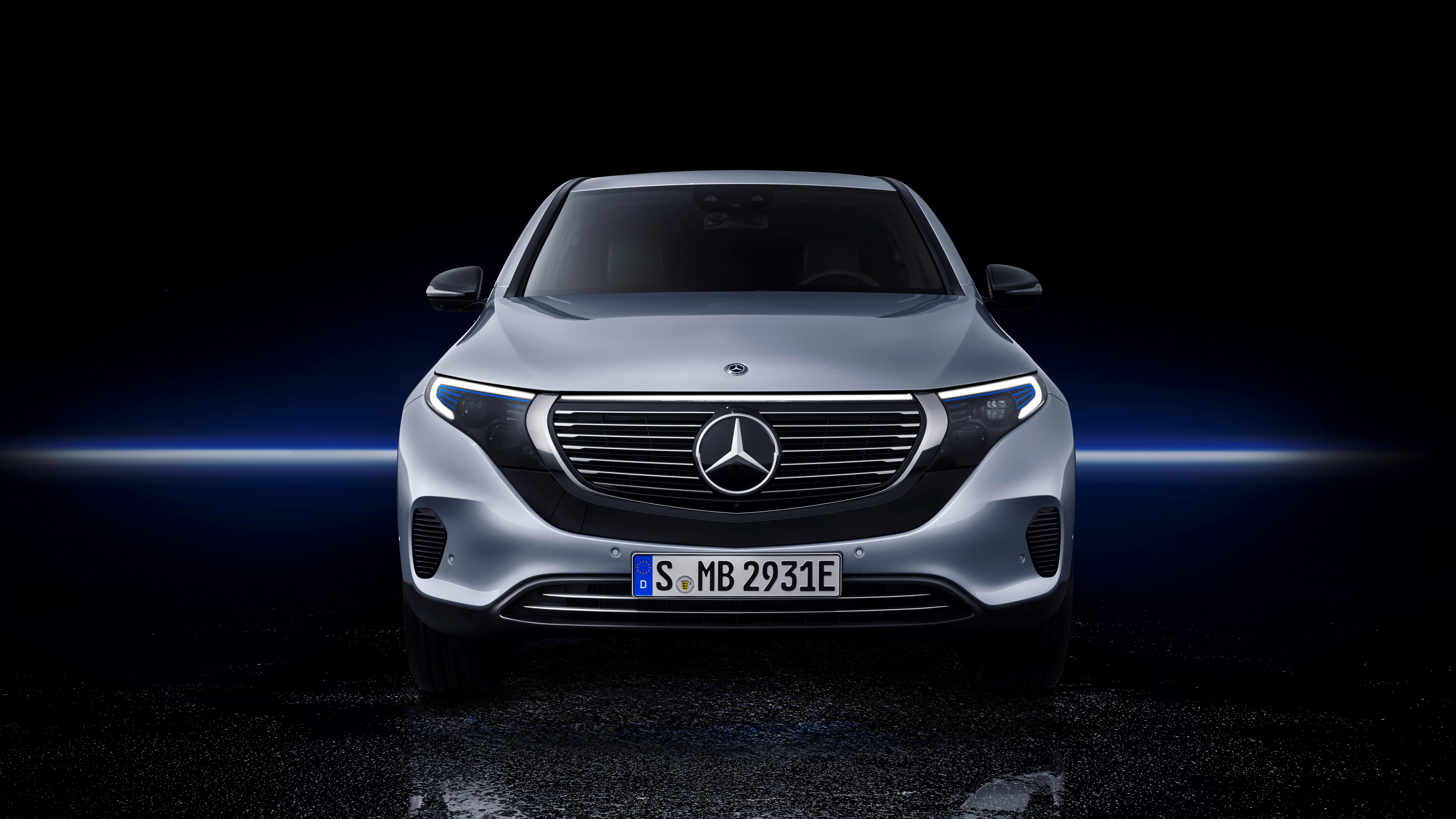 2018 Mercedes-Benz EQC.
