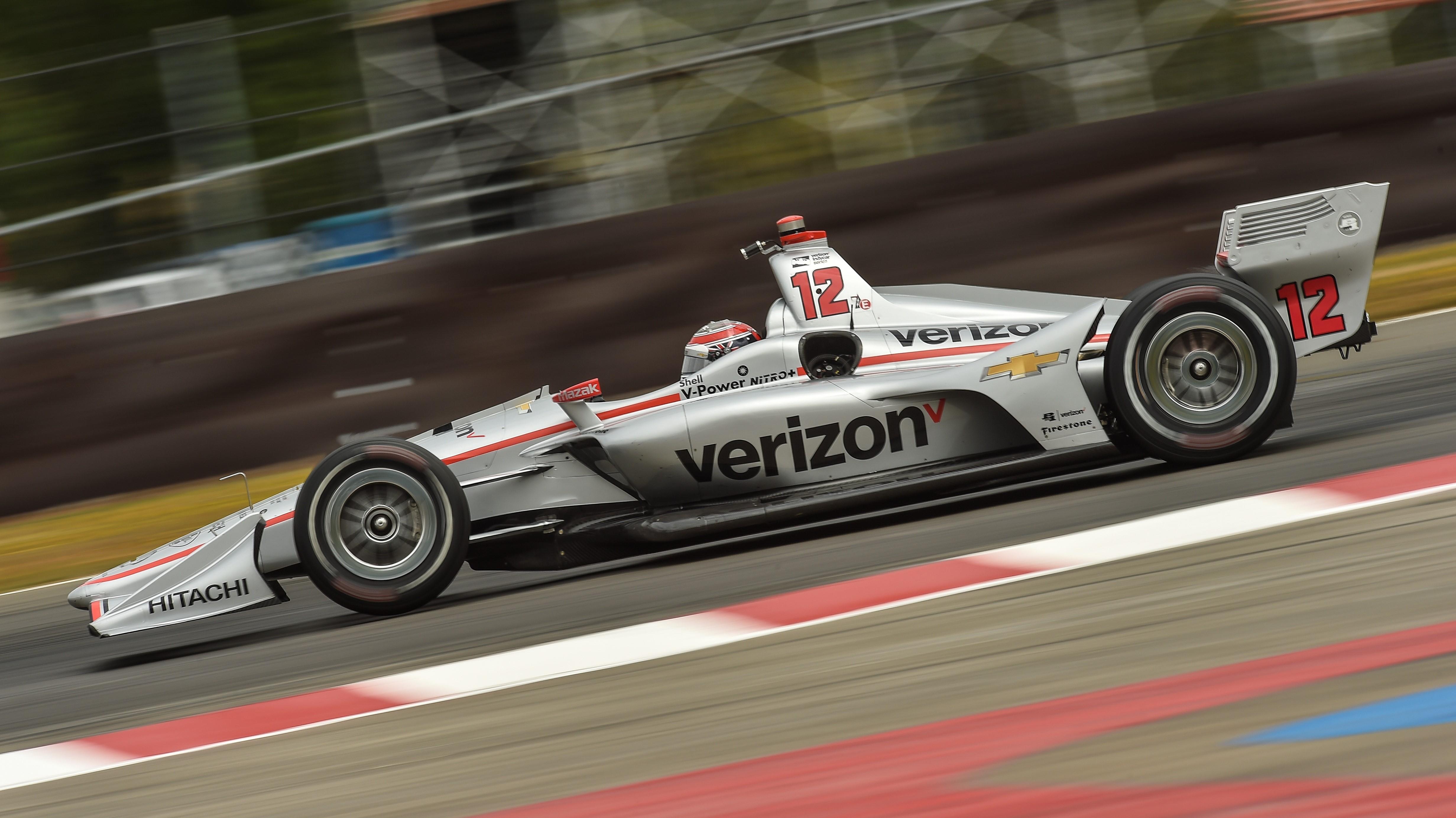 Will Power at Portland International Raceway.