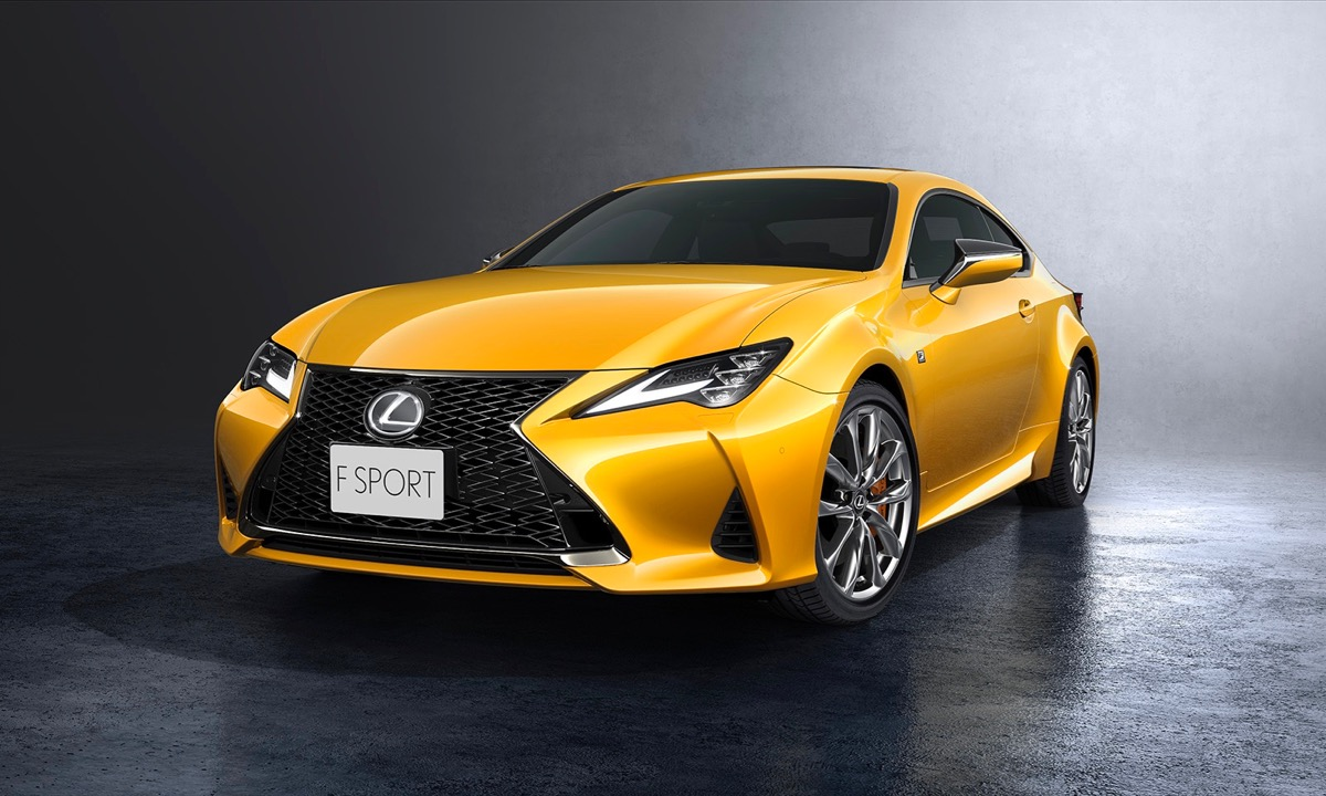 Lexus gives RC coupe a facelift