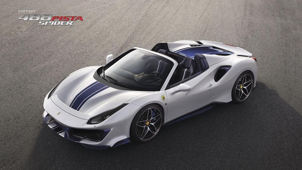 Ferrari 488 Pista Spider unveiled