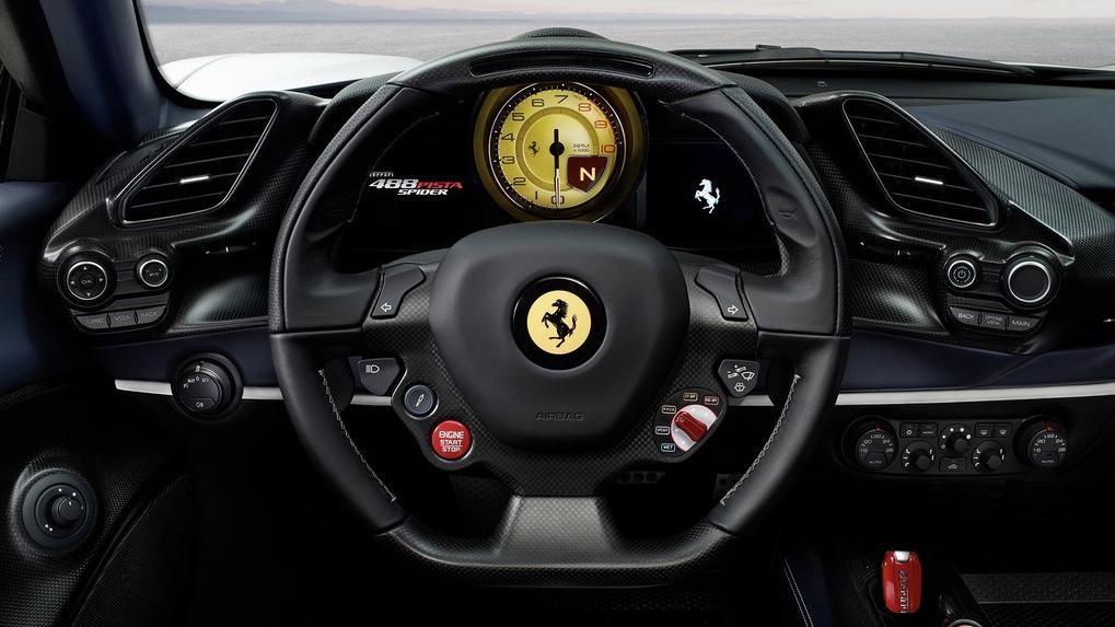 2018 Ferrari 488 Pista Spider.