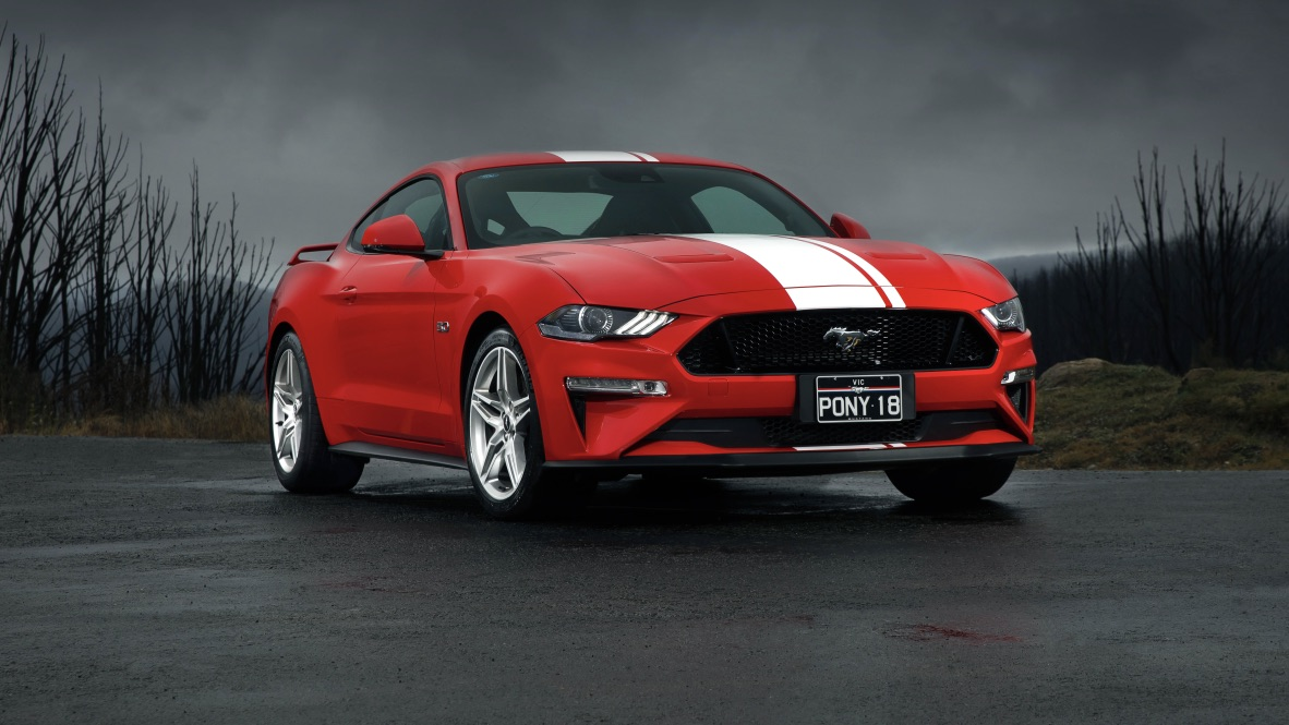 2019 Ford Mustang GT Fastback.