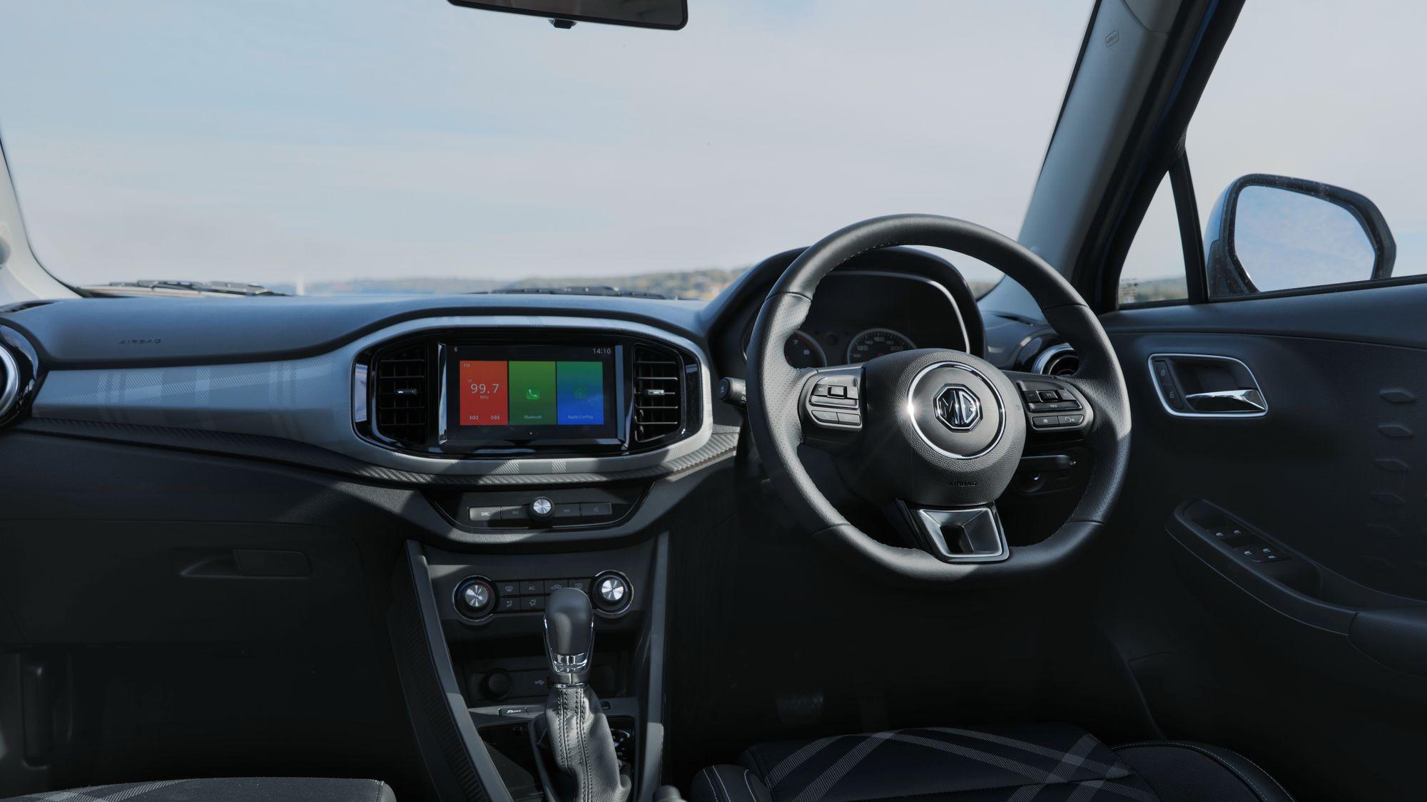 2018 MG3 auto hatch.