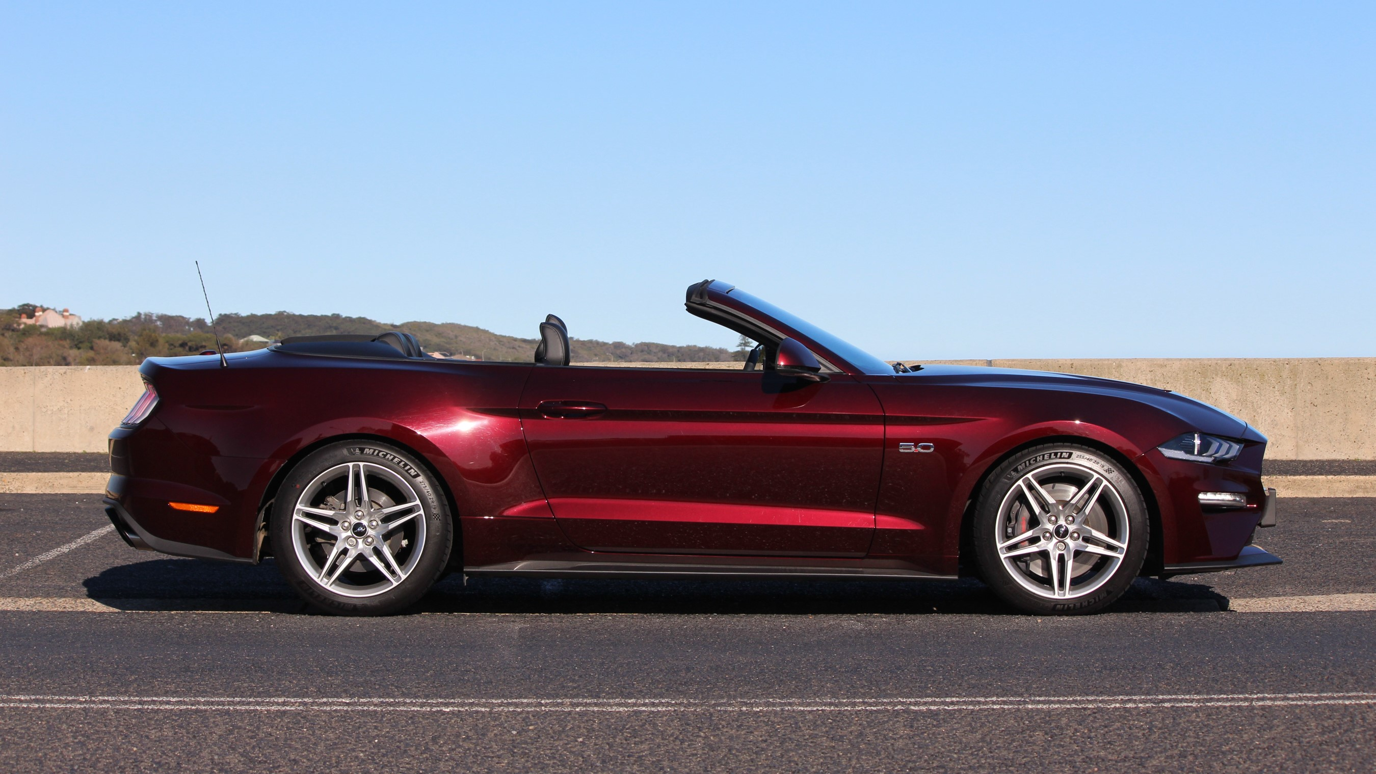 2018 Ford Mustang GT Convertible.