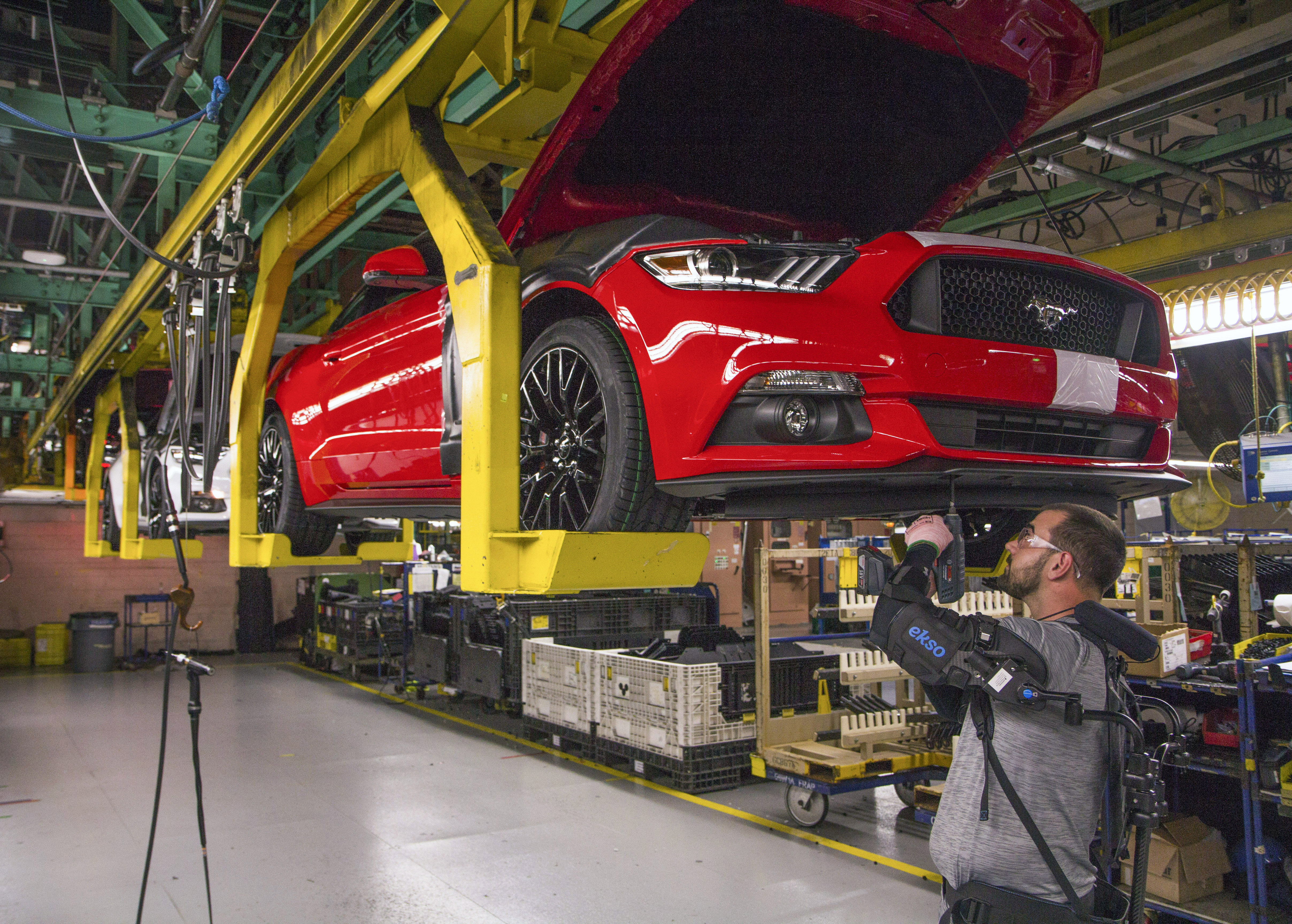 Ford has cut back its platforms from nine to five