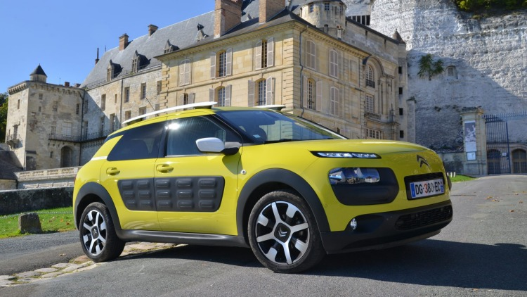 The Citroen C4 Cactus arrives in Australia next year.