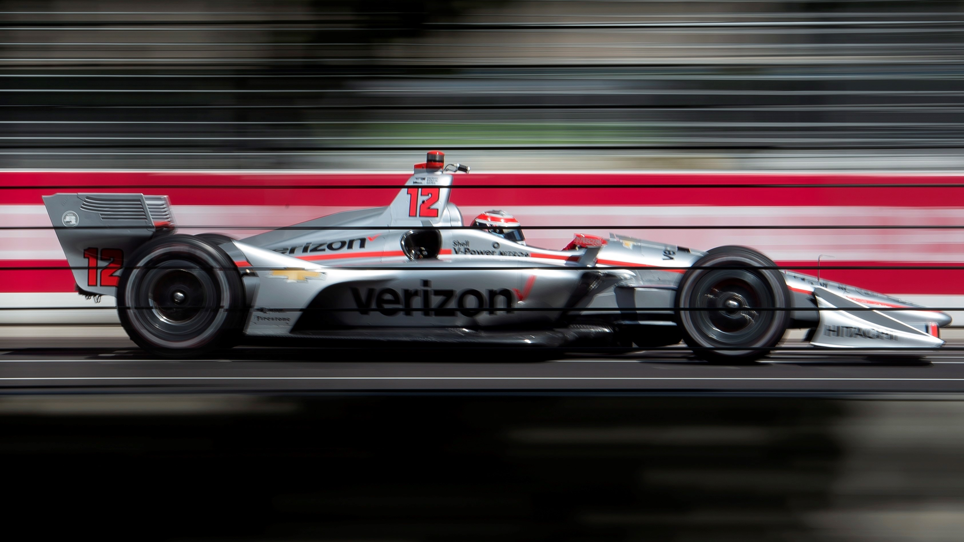 Will Power had a difficult race in Toronto.