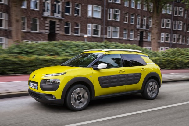 Citroen's new C4 Cactus will arrive in showrooms locally at the start of 2016.
