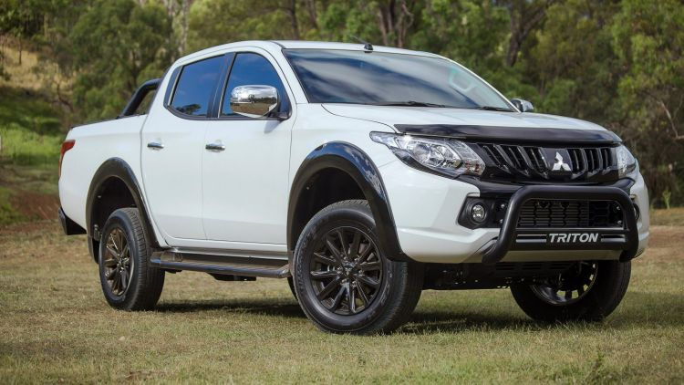 2017 Mitsubishi Triton GLS Sports Edition.