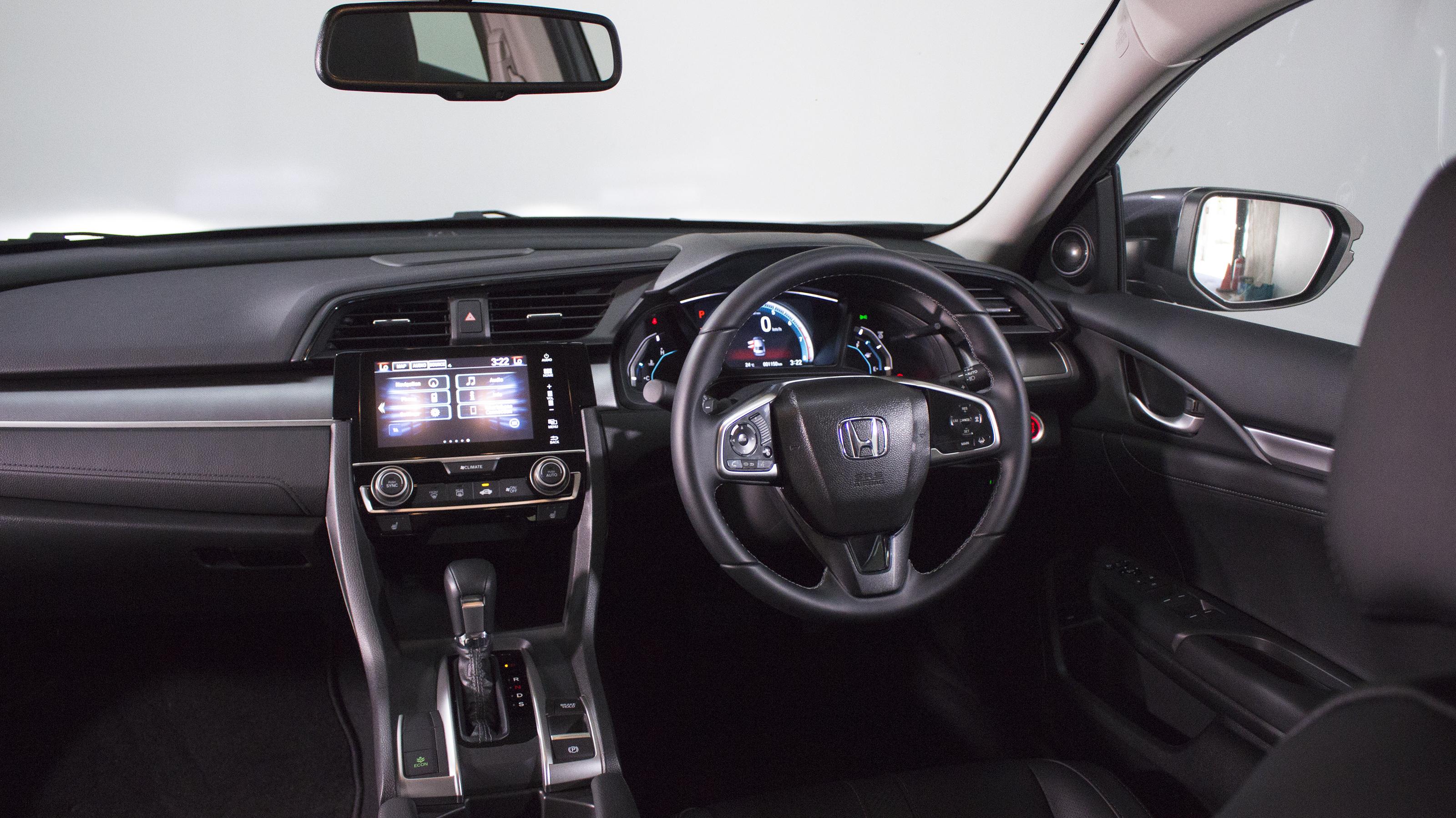 Small car comparison: Honda Civic.