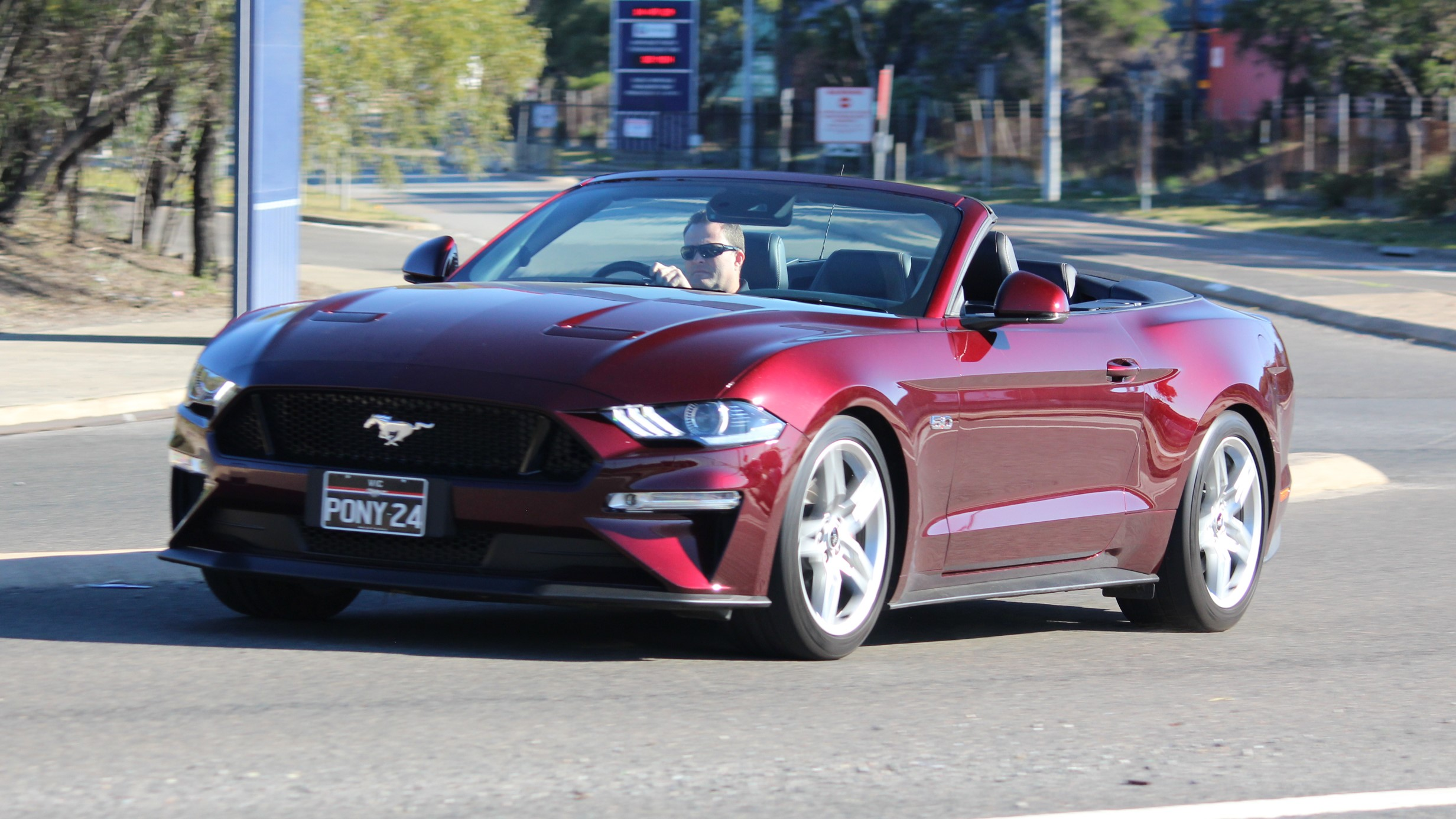 2018 Ford Mustang Convertible she says, he says review