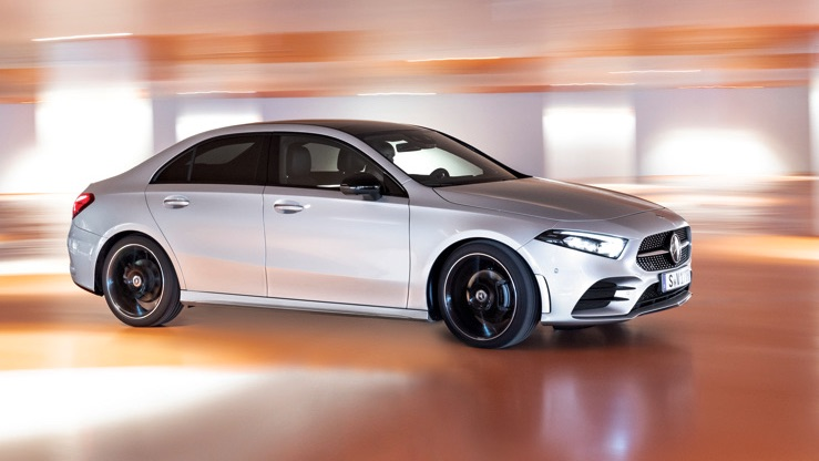 New Mercedes-Benz A-class sedan revealed