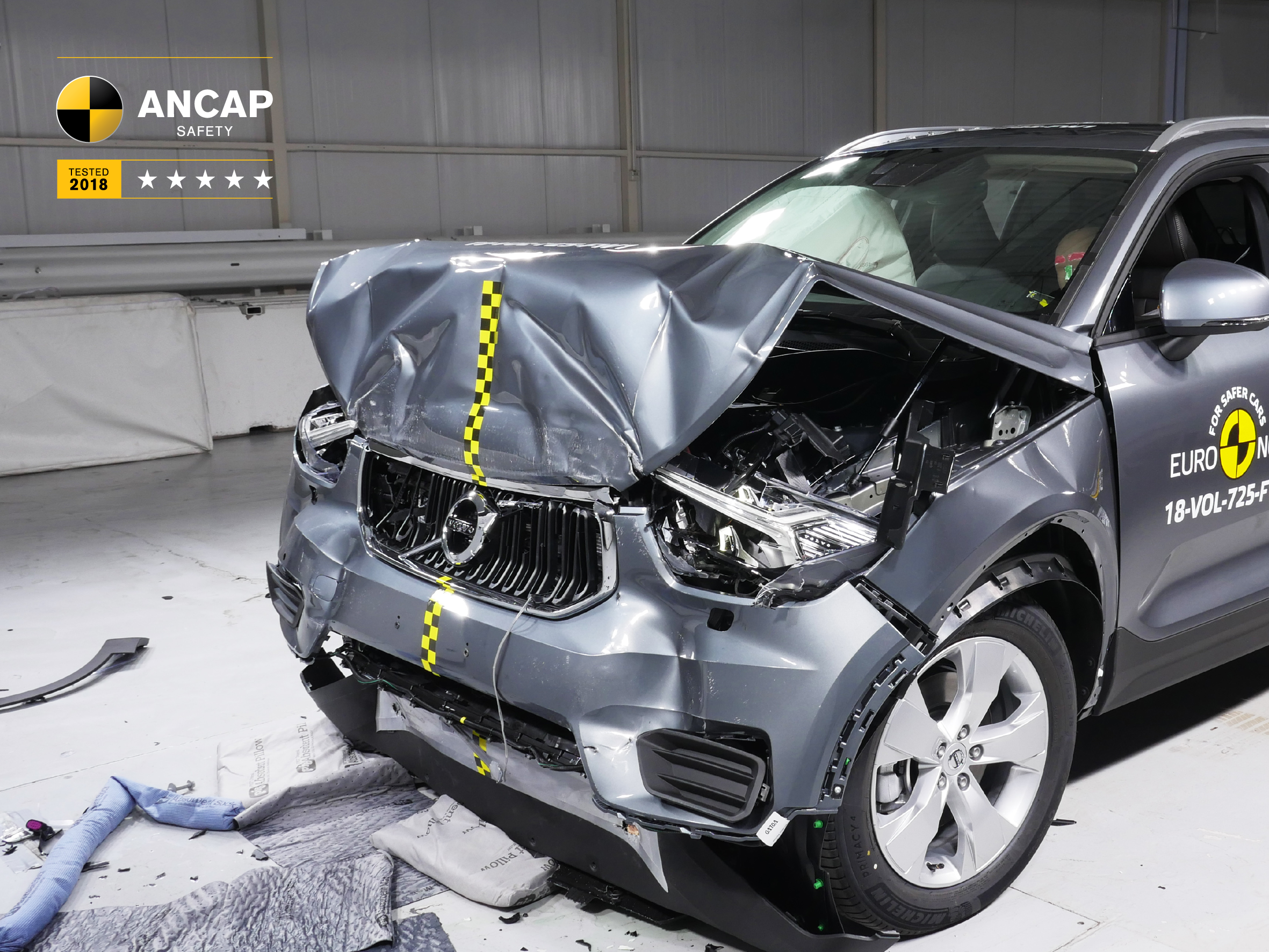 Volvo XC40 ANCAP crash test