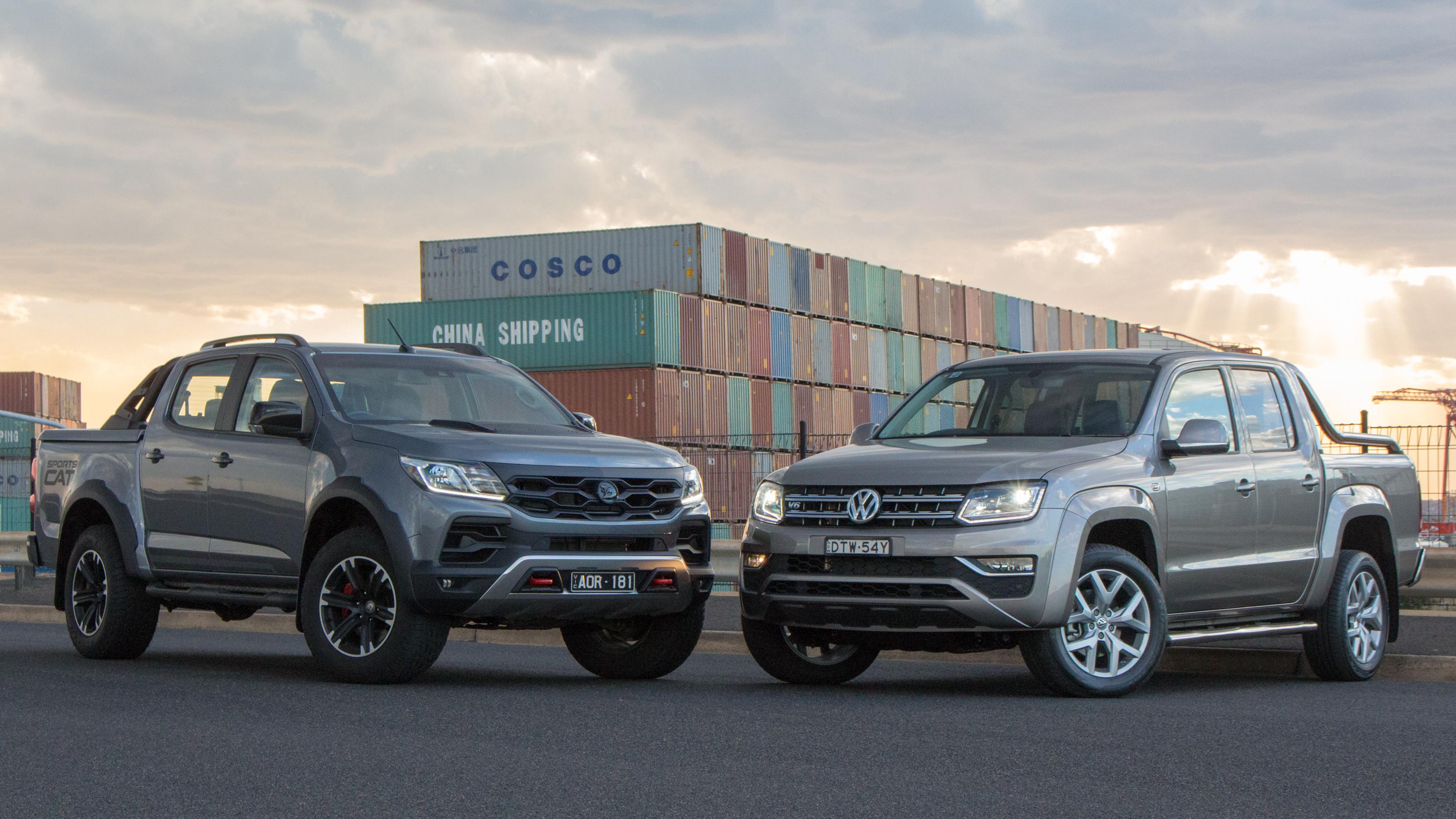 HSV SportsCat+ vs Volkswagen Amarok V6 Ultimate head-to-head review