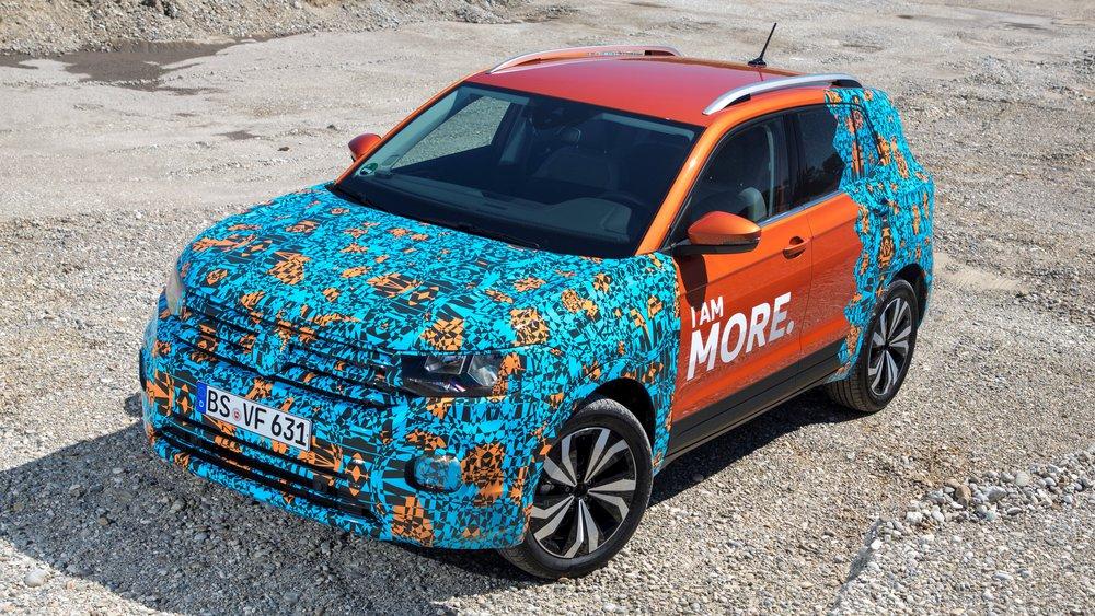 2018 Volkswagen T-Cross pre-production drive