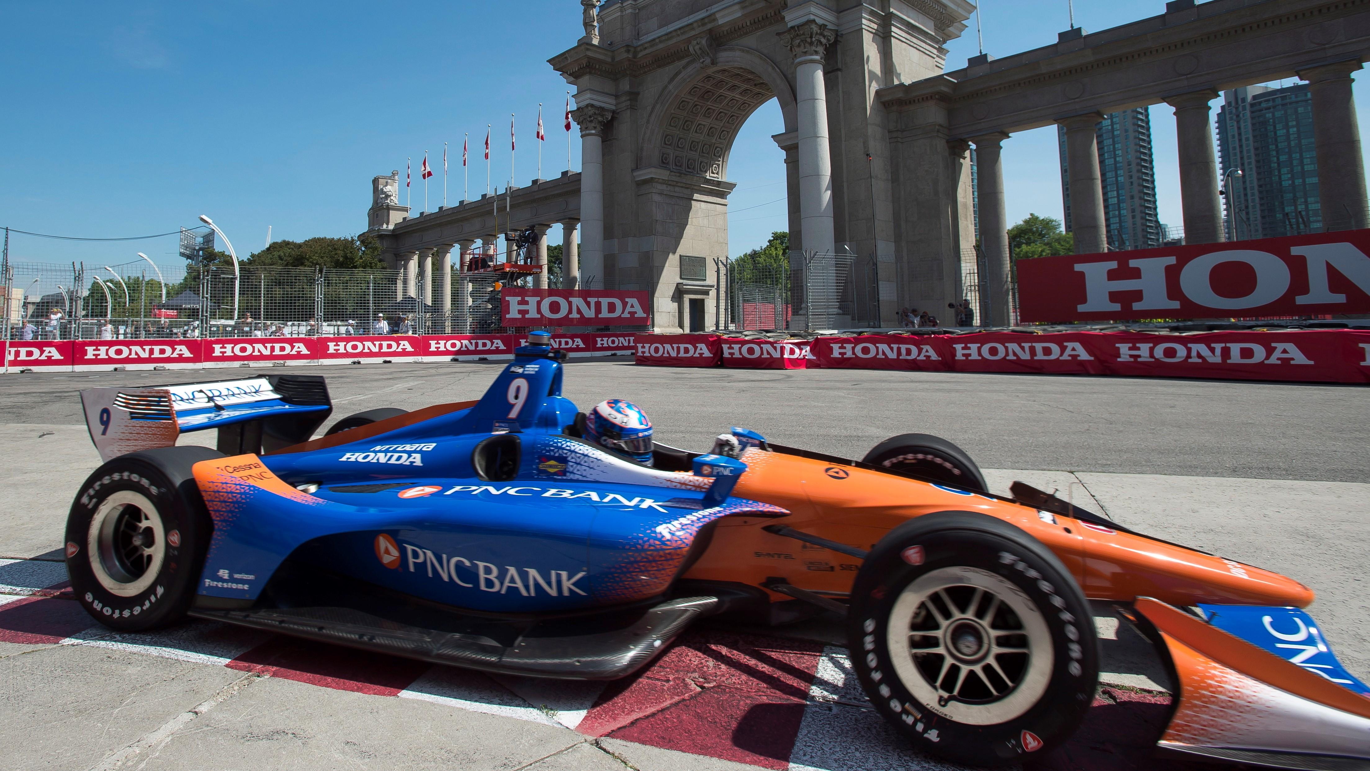Scott Dixon won the Toronto Indycar race.
