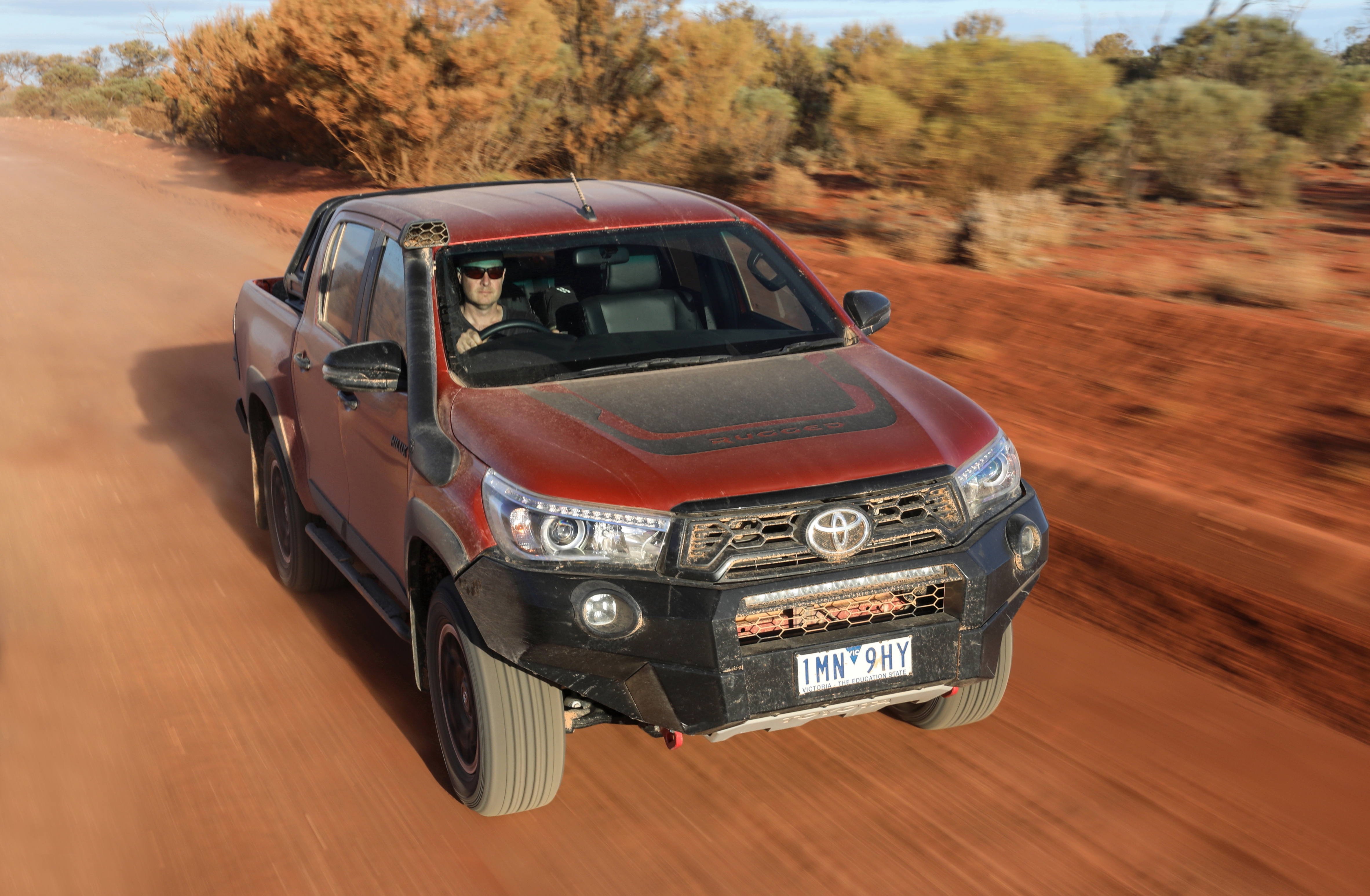 Outback Comparison Test - Toyota HiLux Rugged X