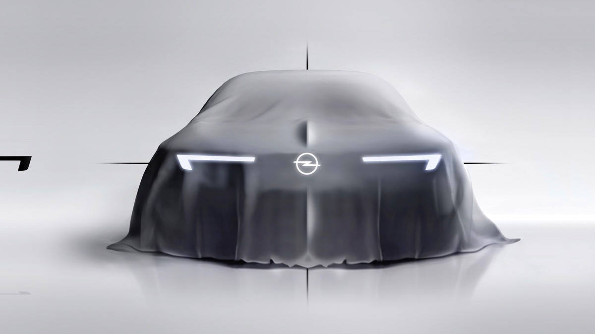 Opel concept car preview