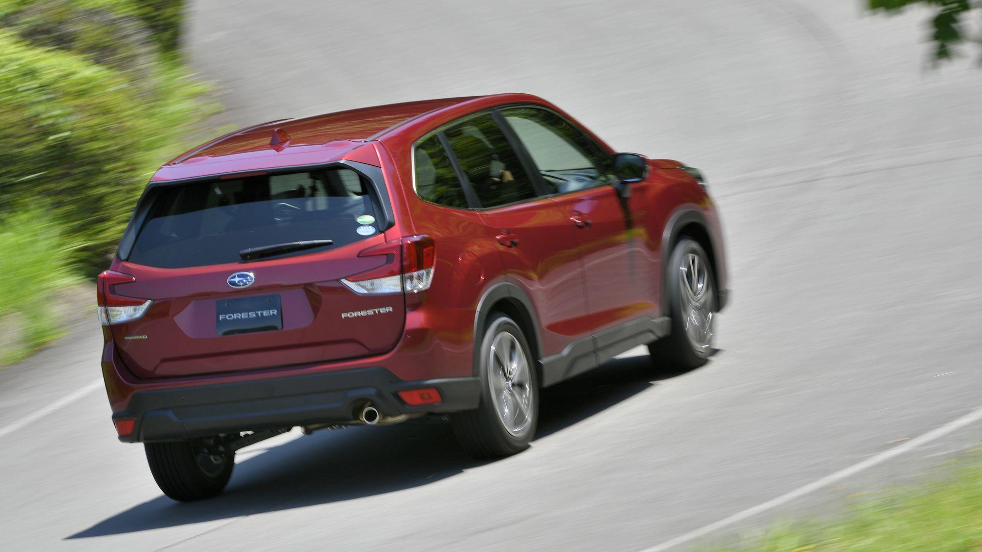 2019 Subaru Forester.