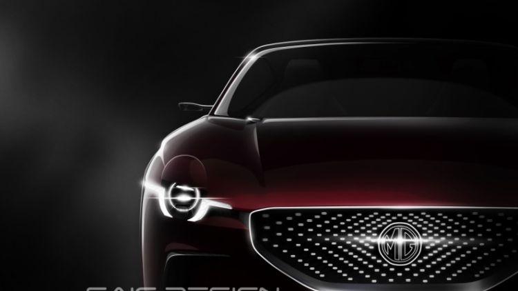 MG E-Motion electric car concept
