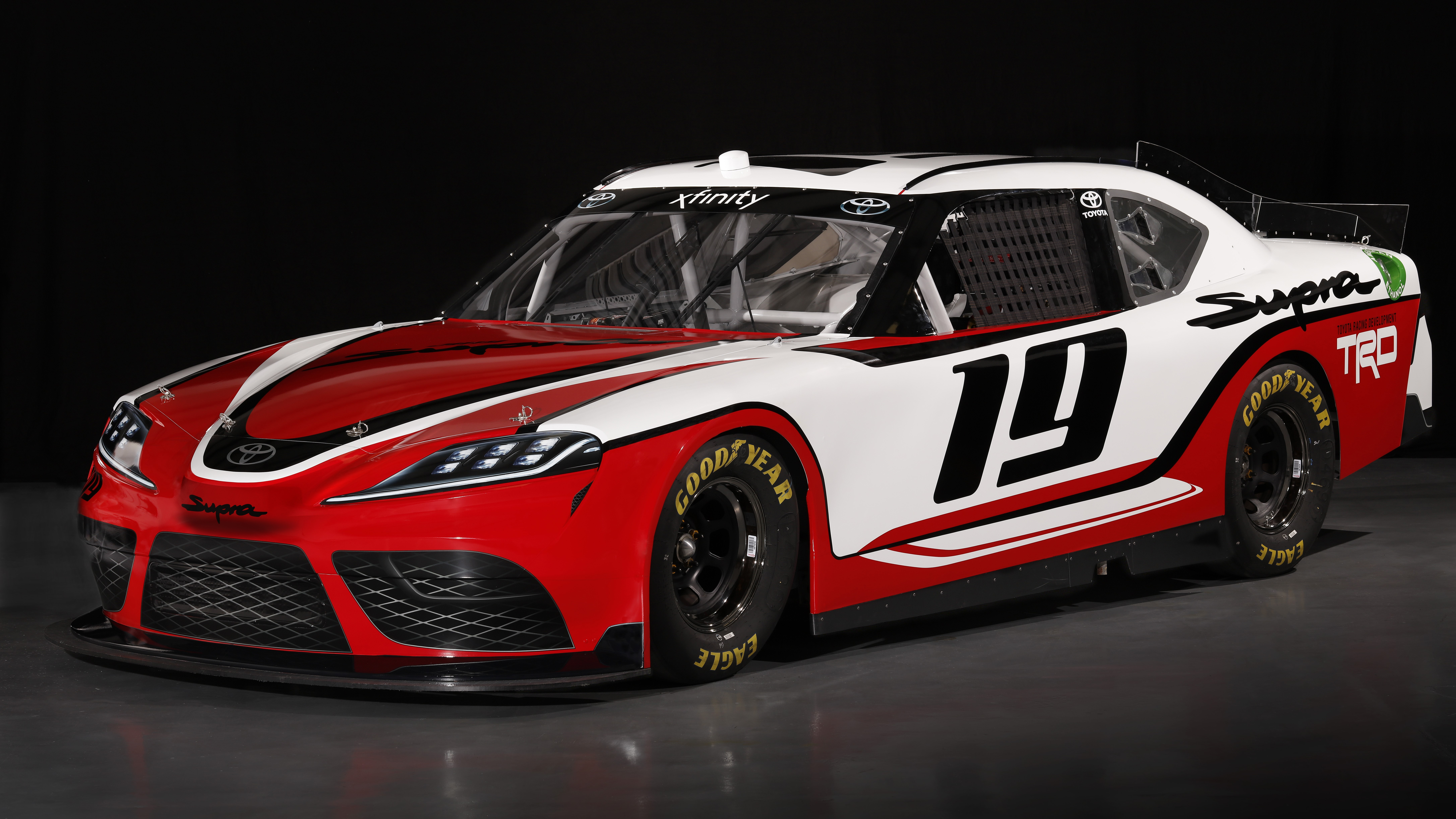 The Toyota Supra will compete in the NASCAR Xfinity Series.