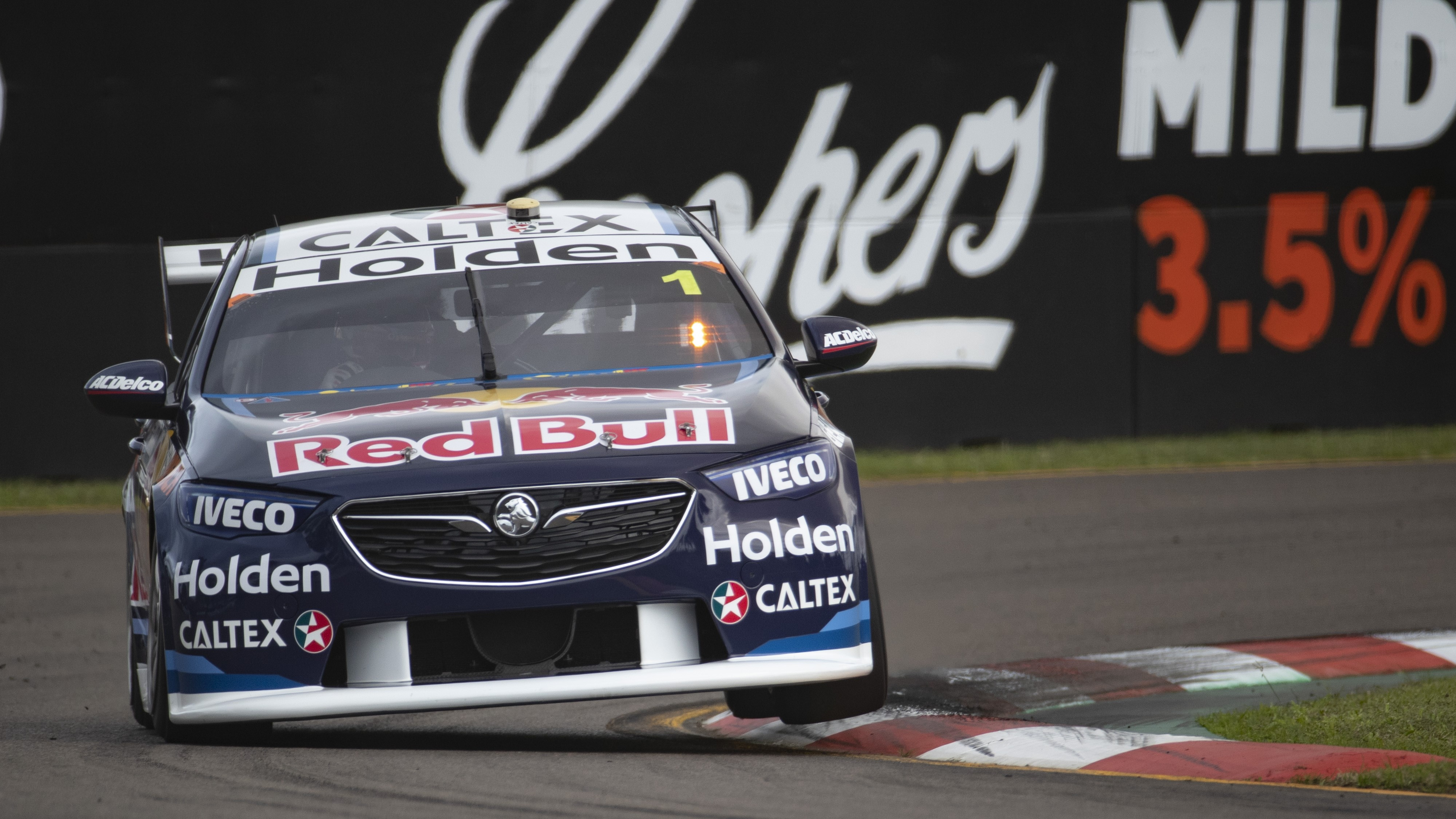 Jamie Whincup topped practice at Townsville.