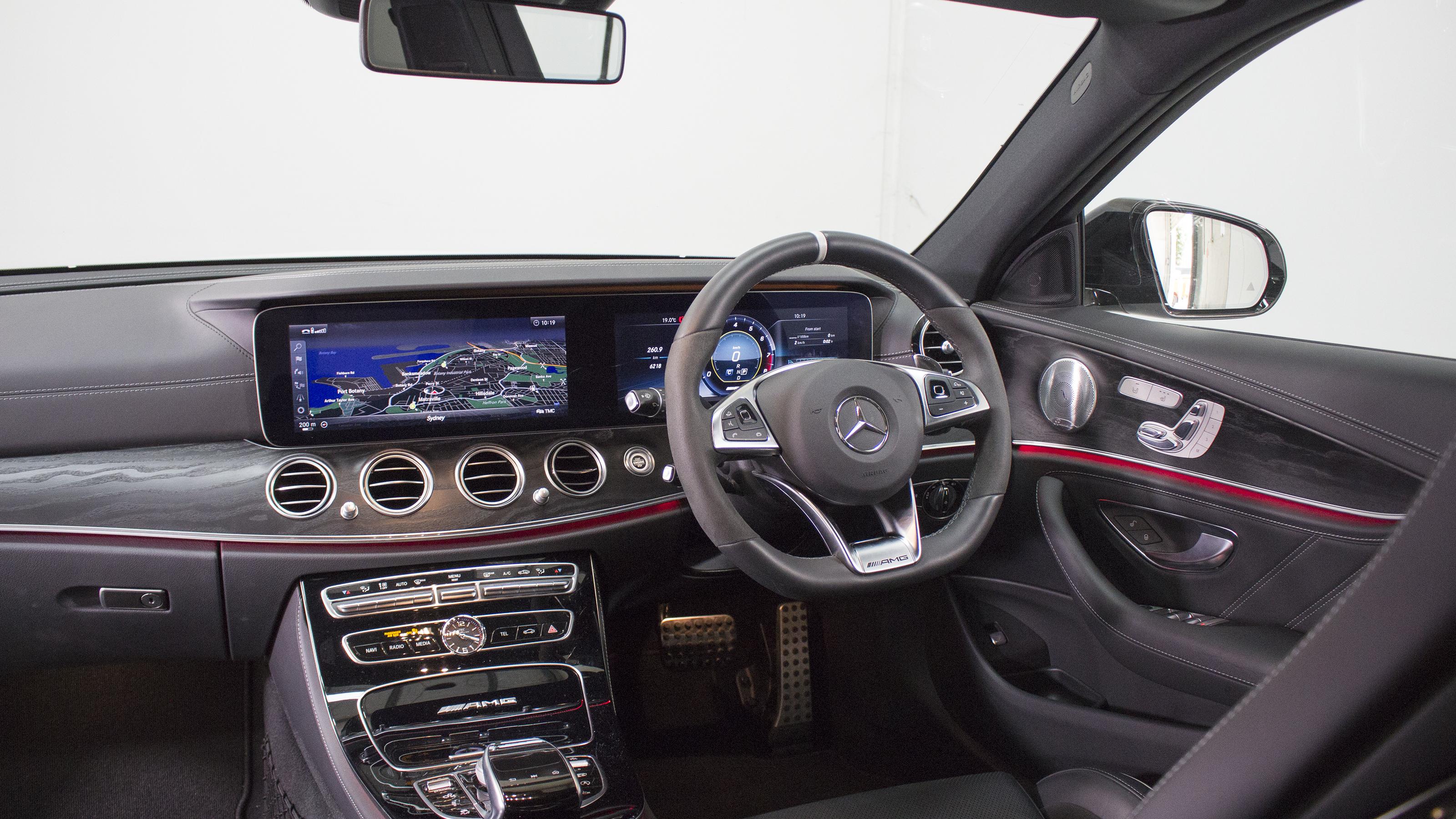 Head-to-head: Mercedes-AMG E63 S.