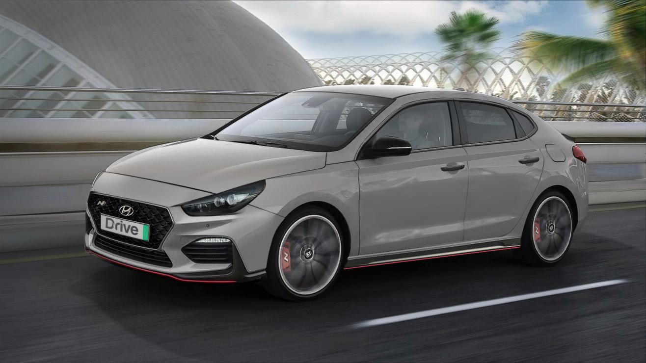 Hyundai i30 N Fastback rendering