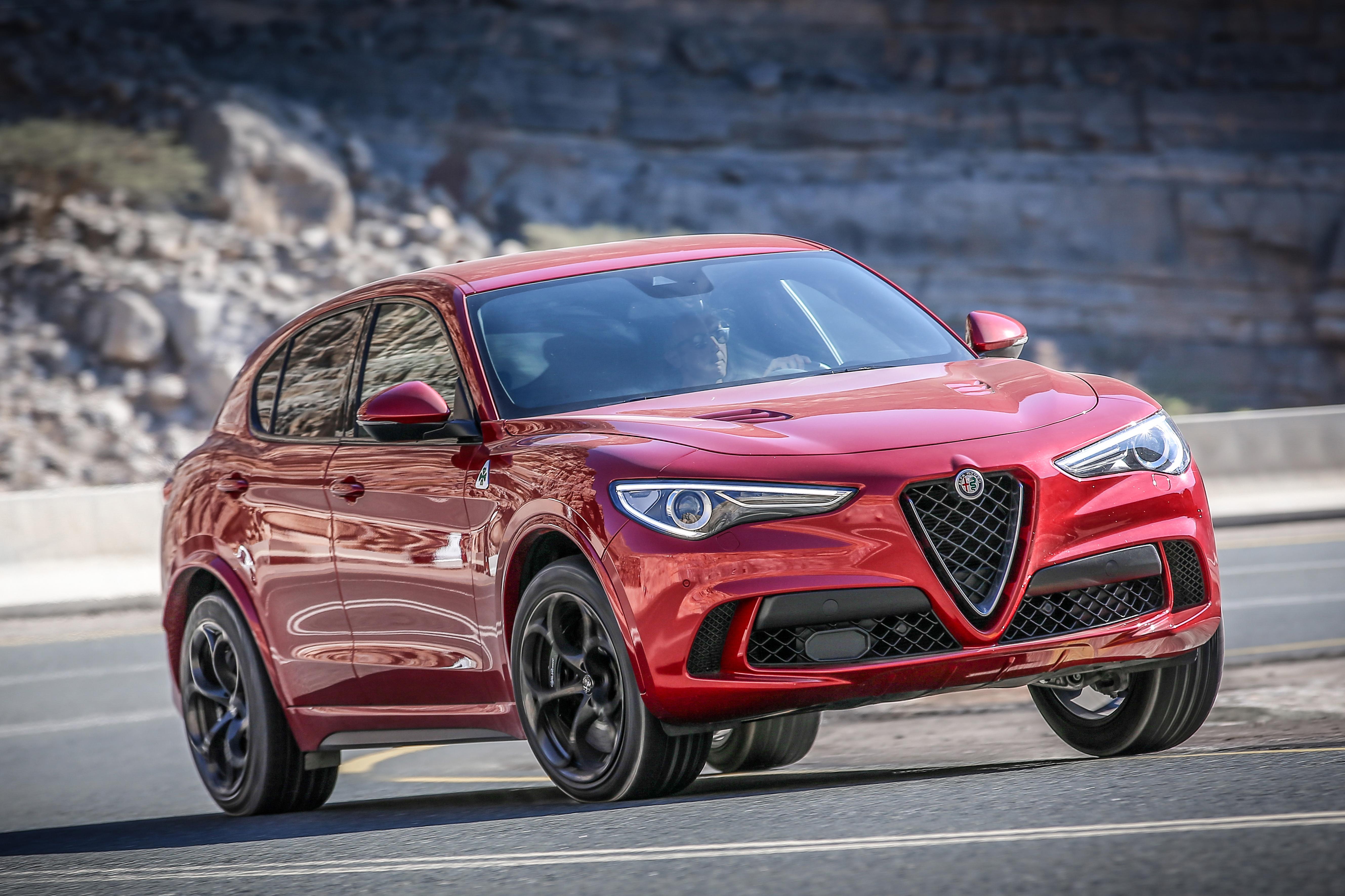 2018 Alfa Romeo Stelvio Quadrifoglio.