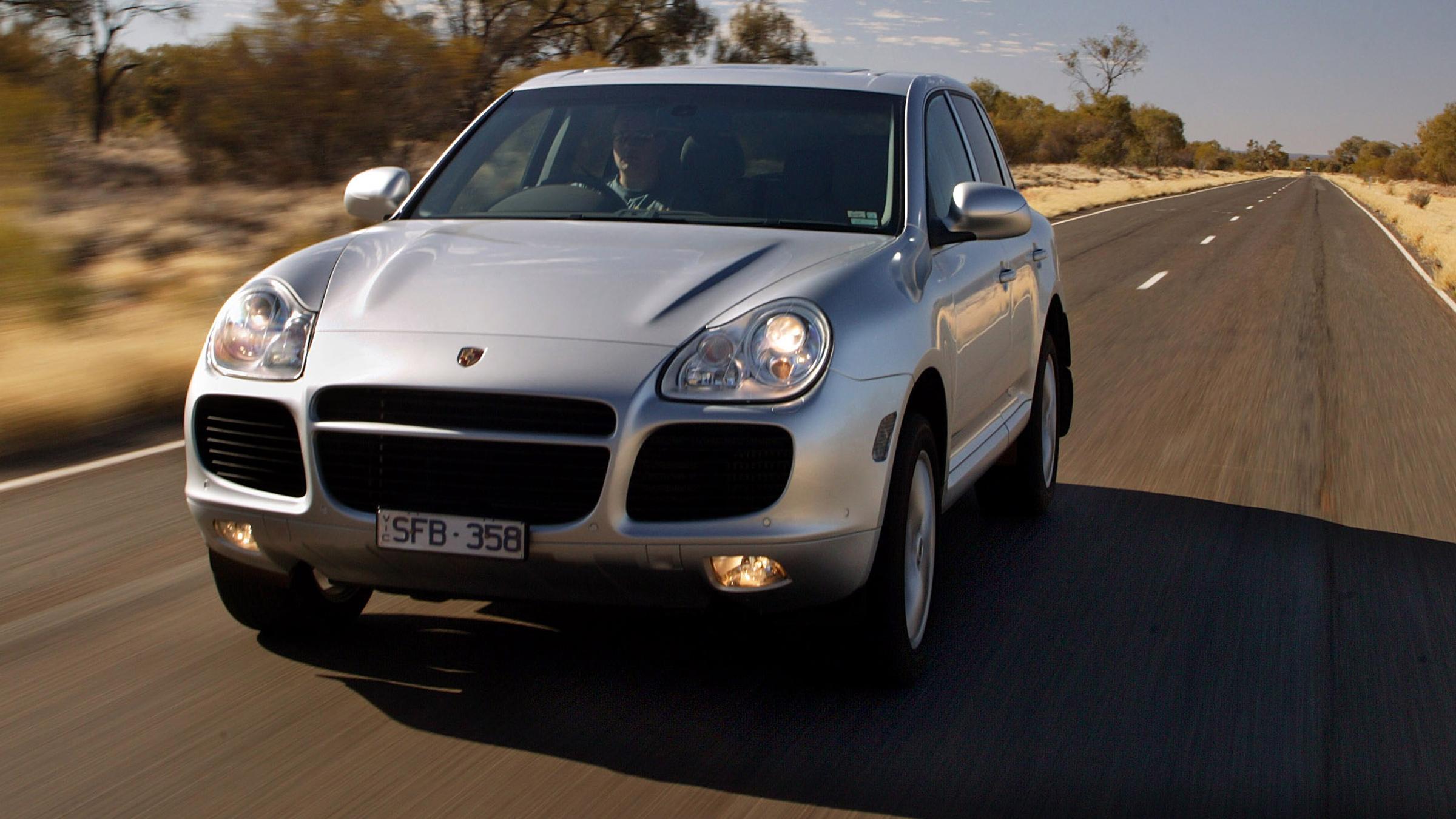 2003 Porsche Cayenne.