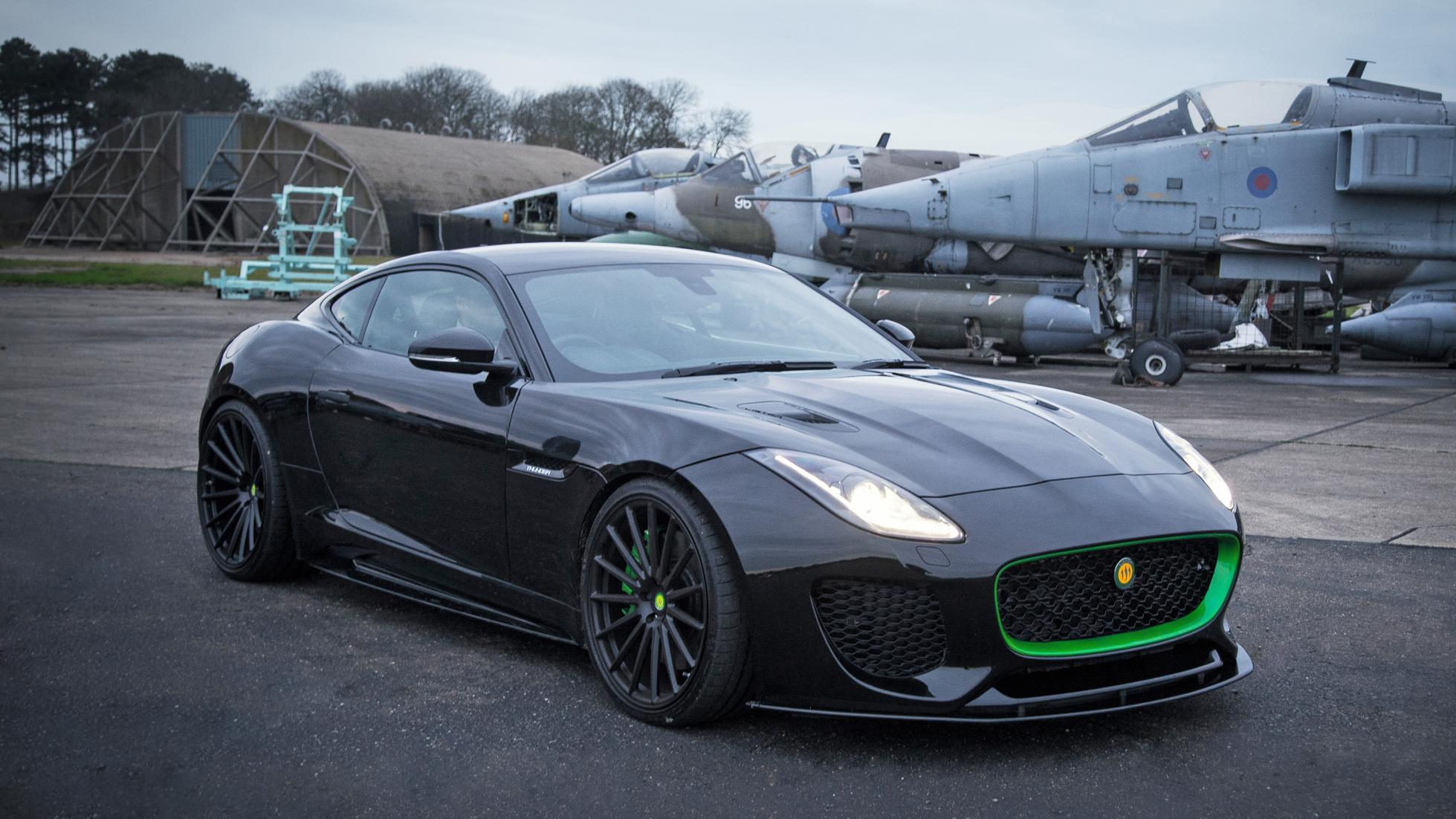 Lister's Thunder sports car takes the F-Type to a new level.