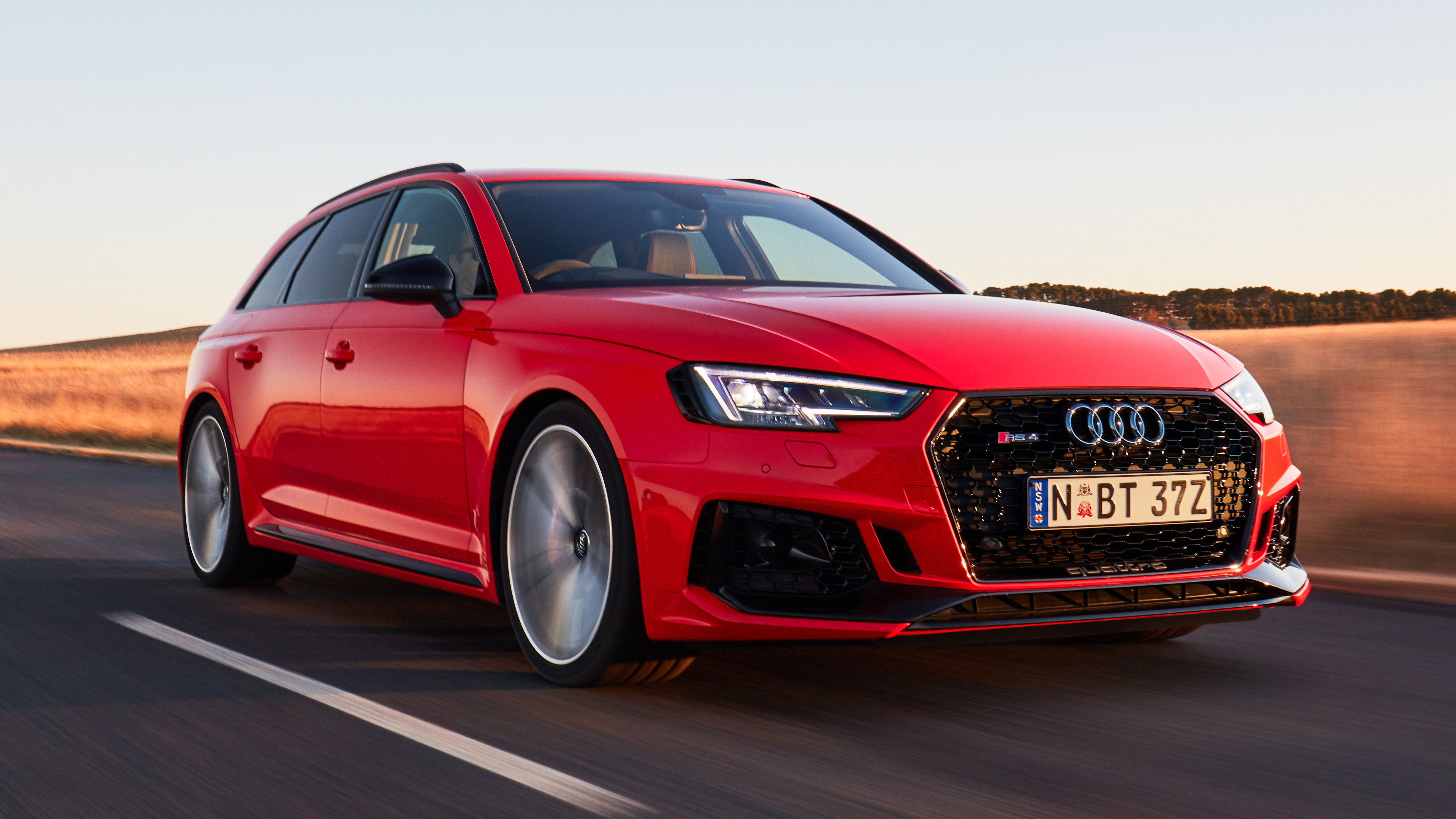 The new Audi RS4 Avant brings performance in a practical package.